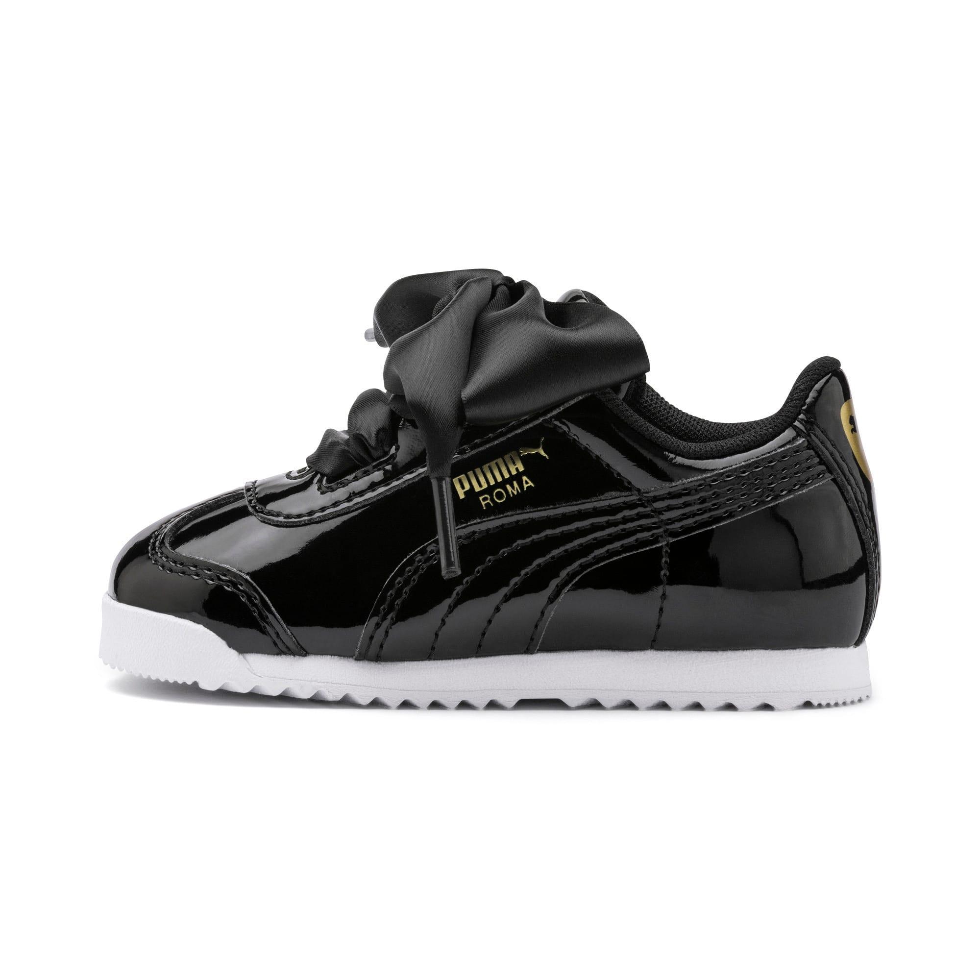 Thumbnail 1 of Roma Heart Patent Toddler Shoes, Puma Black, medium