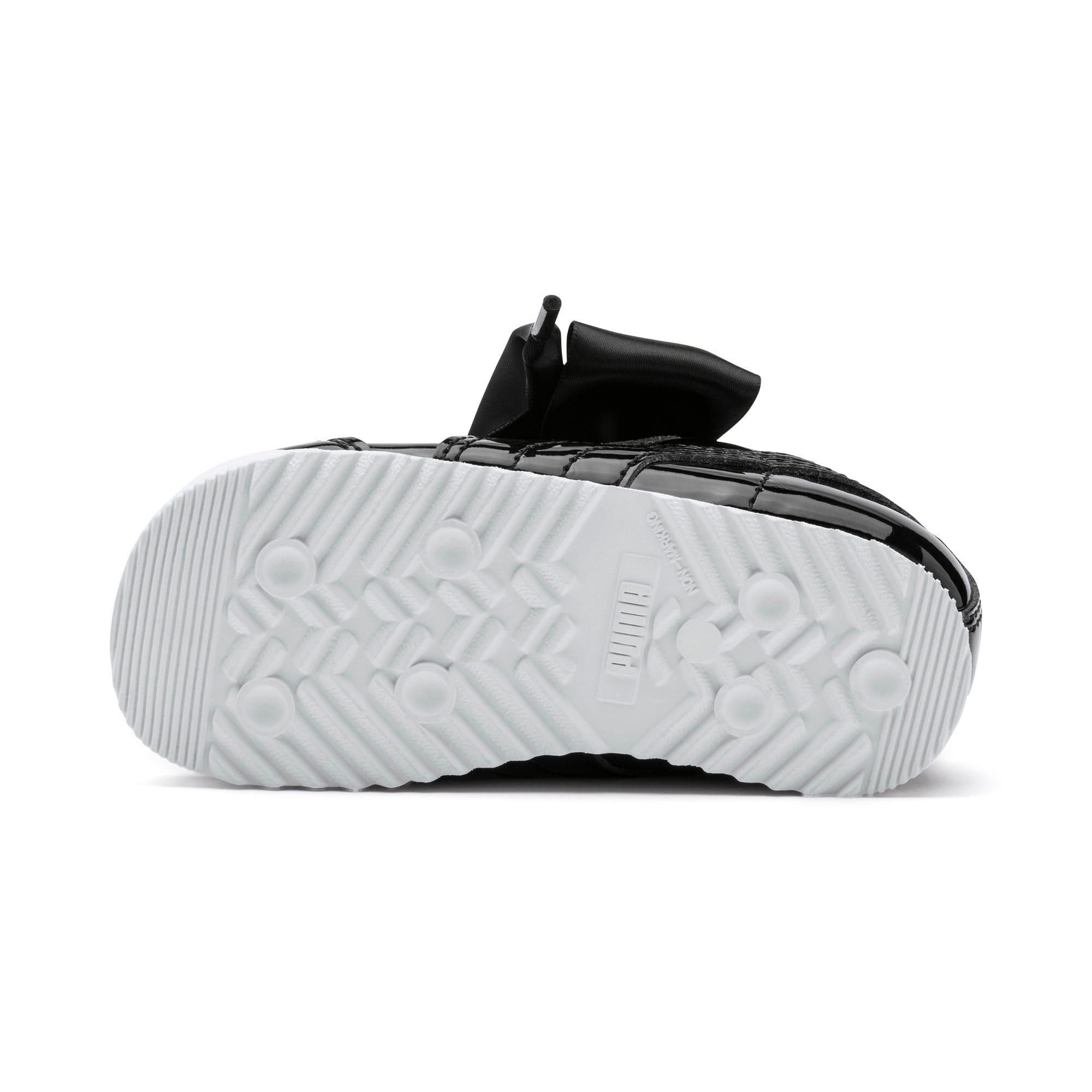 Thumbnail 4 of Roma Heart Patent Toddler Shoes, Puma Black, medium