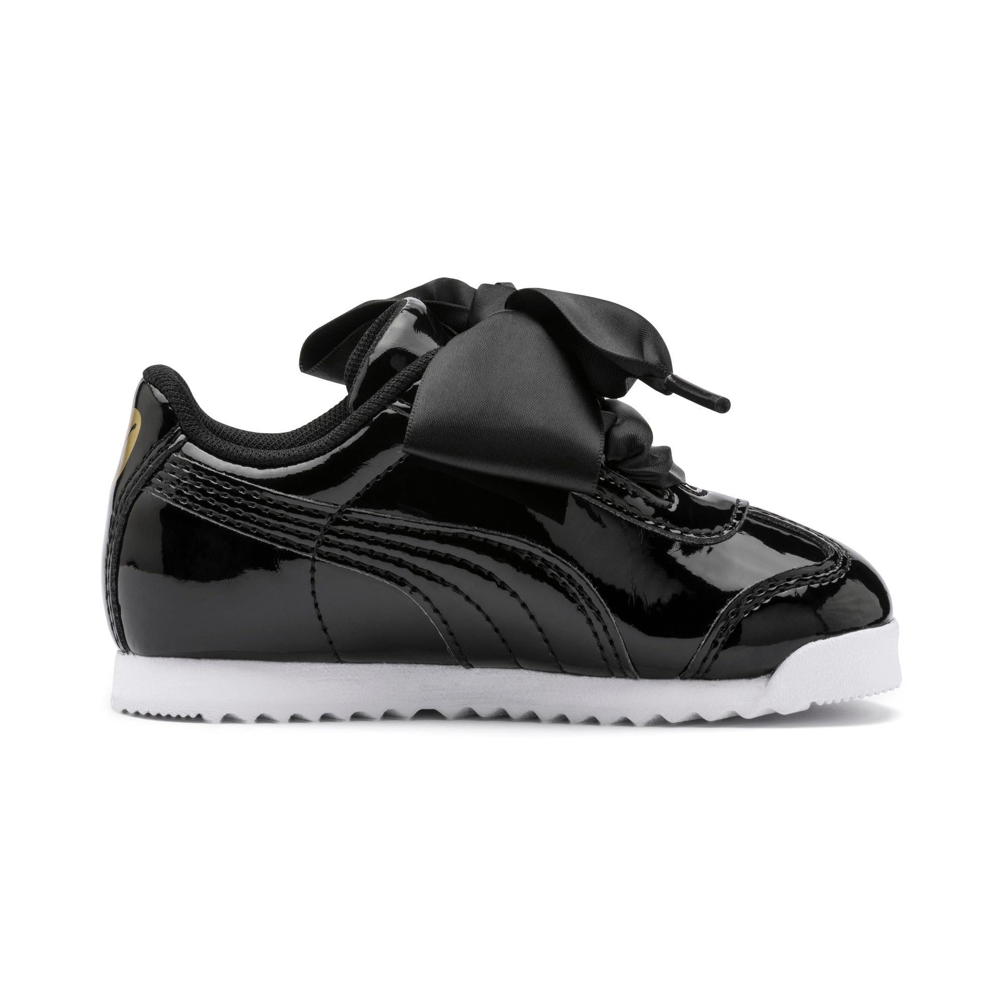 Thumbnail 5 of Roma Heart Patent Toddler Shoes, Puma Black, medium