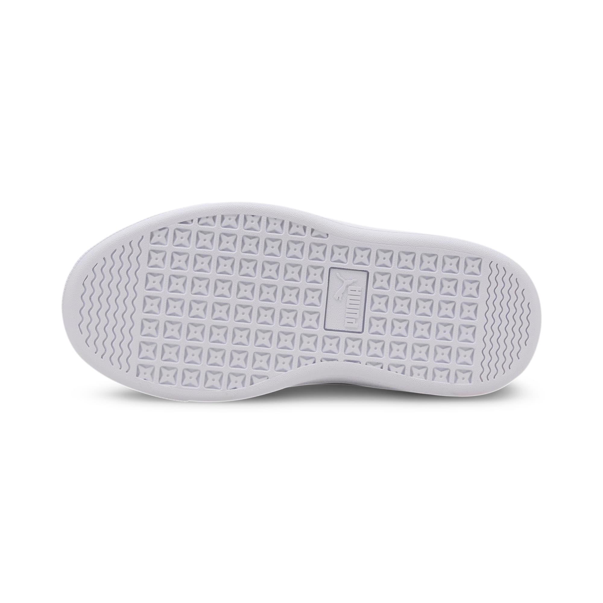Thumbnail 4 of PUMA Vikky v2 Glitz AC Sneakers PS, Gray Violet-Silver-White, medium