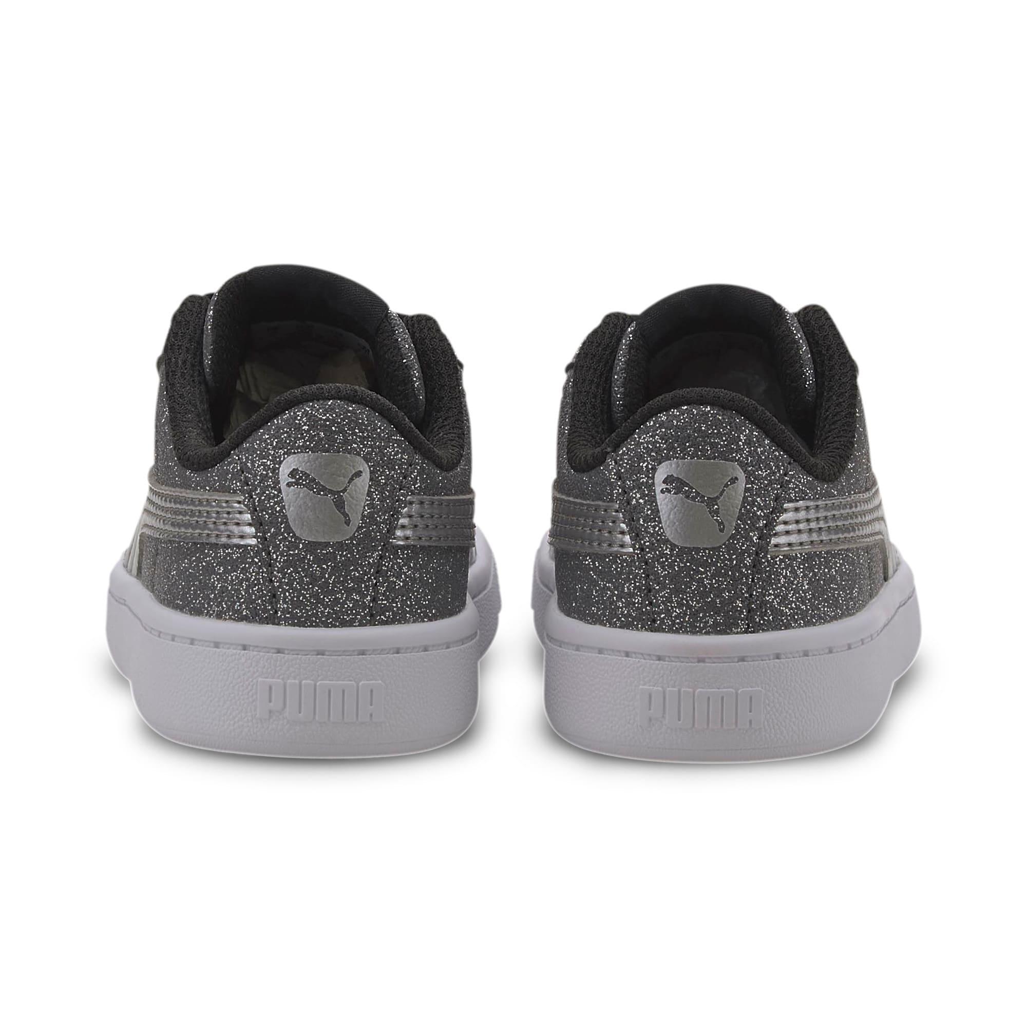 Miniatura 3 de Zapatos deportivos PUMA Vikky v2 Glitz AC INF, Puma Black-Silver-White, mediano