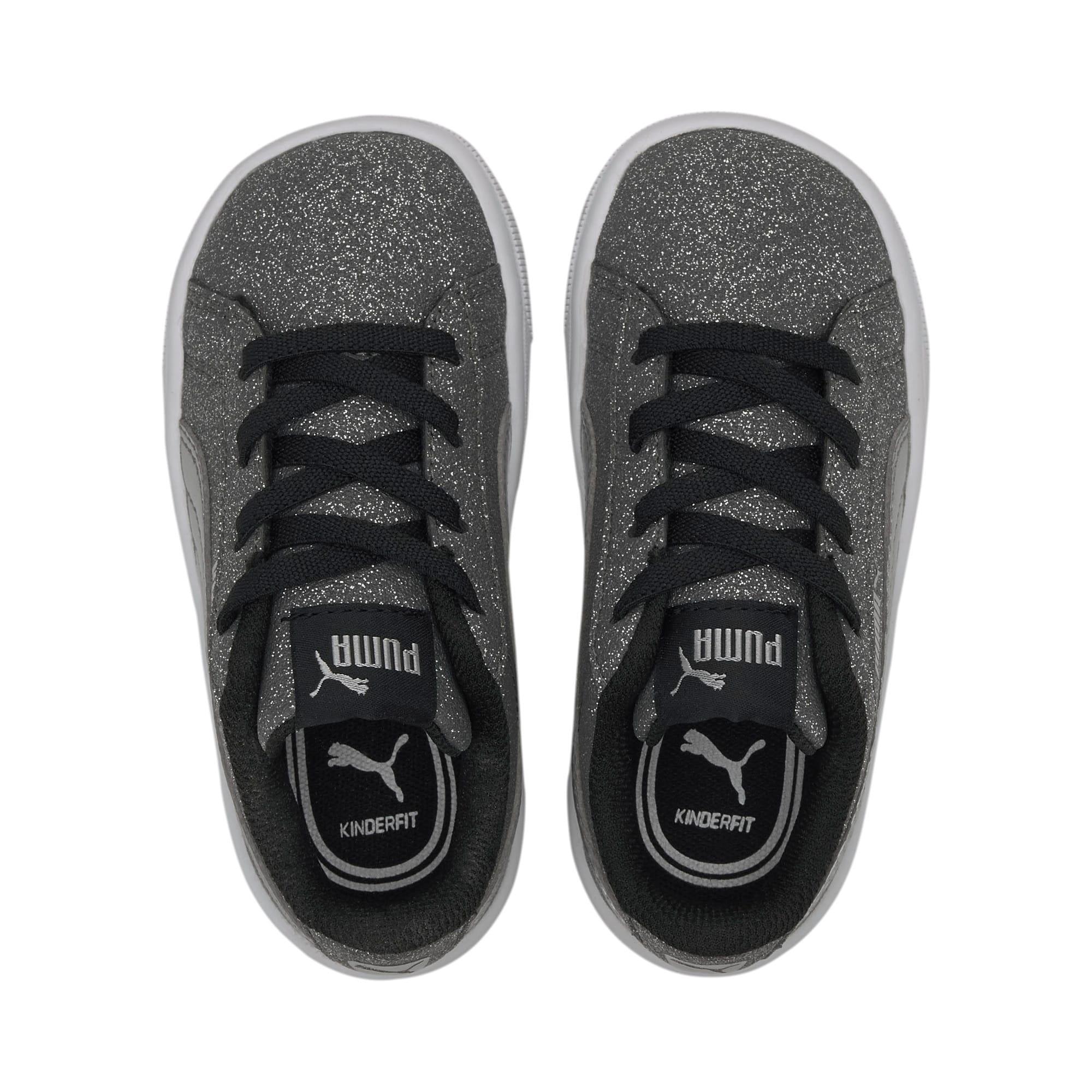 Miniatura 6 de Zapatos deportivos PUMA Vikky v2 Glitz AC INF, Puma Black-Silver-White, mediano