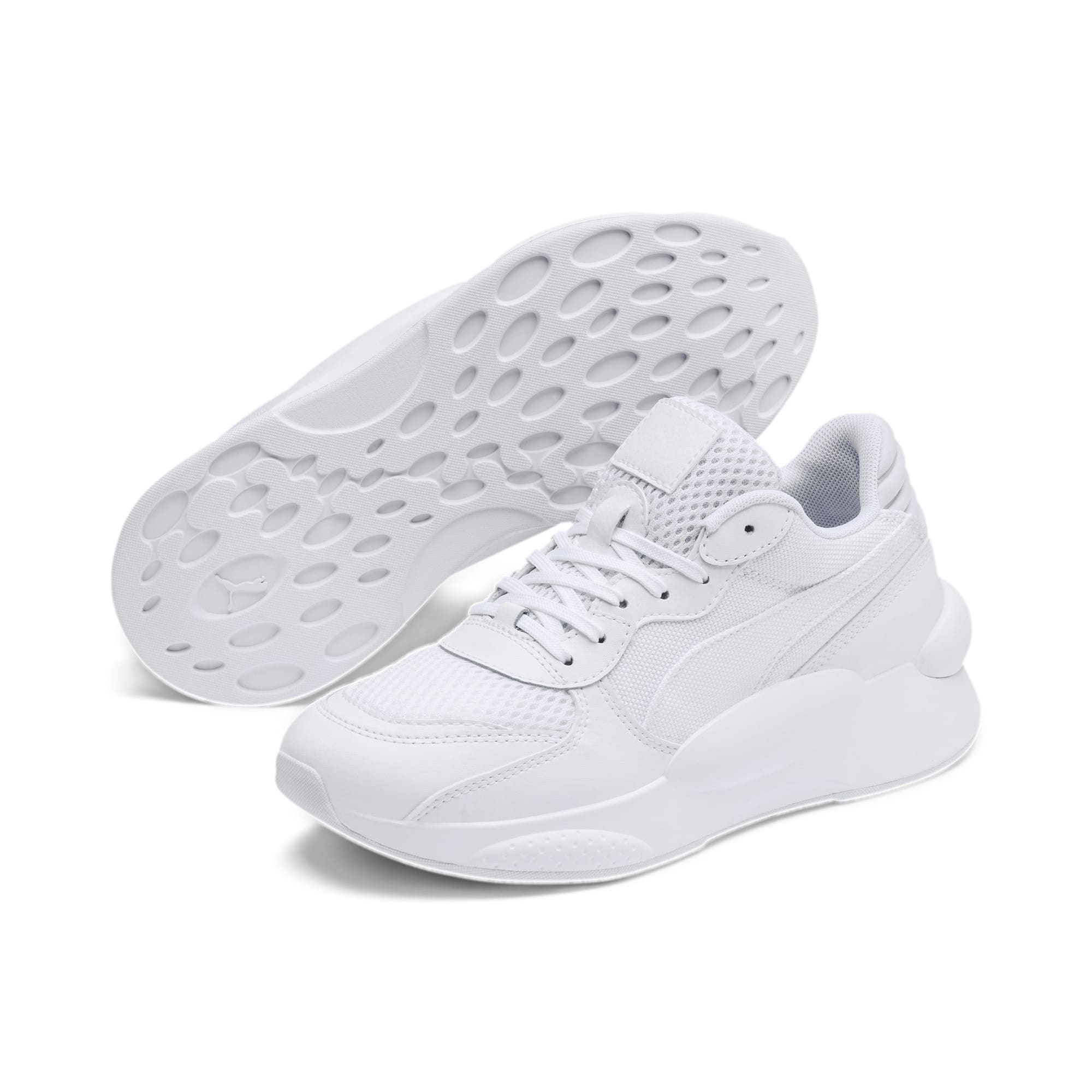 Thumbnail 2 of RS 9.8 Core Youth Trainers, Puma White, medium