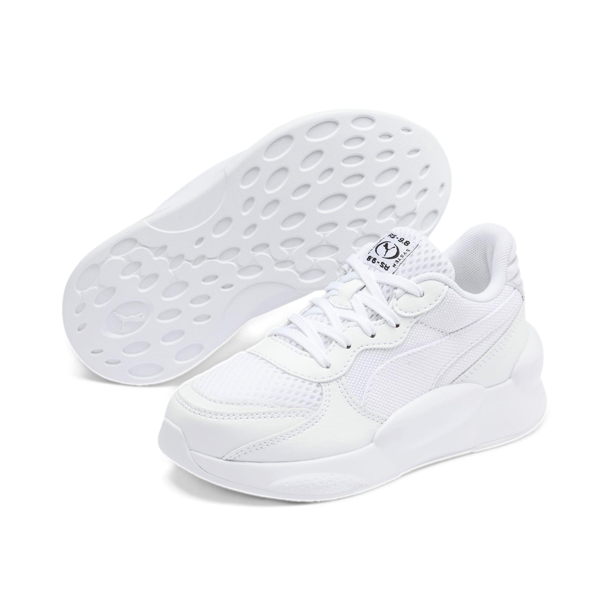 Thumbnail 2 of RS 9.8 Core Little Kids' Shoes, Puma White, medium