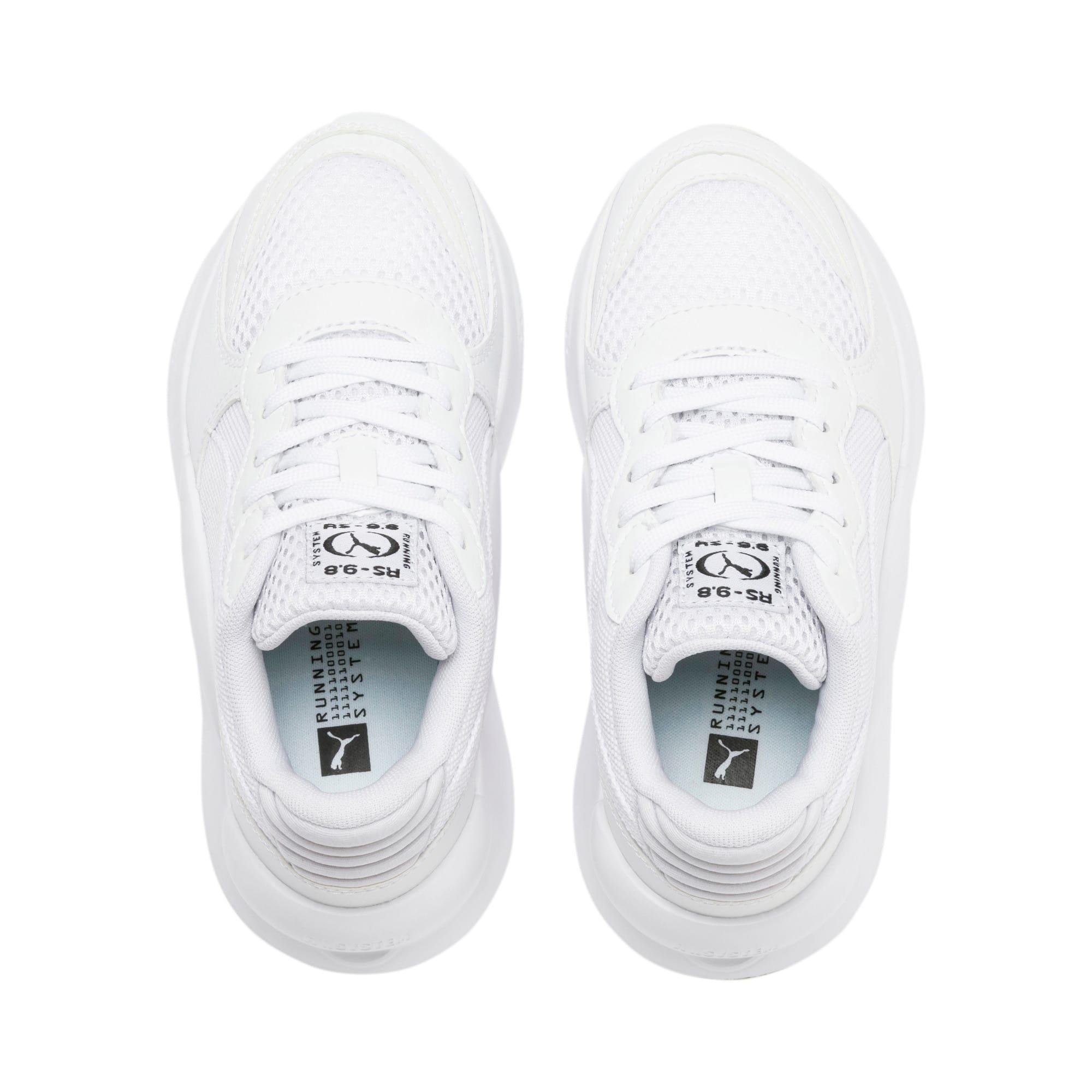 Thumbnail 6 of RS 9.8 Core Little Kids' Shoes, Puma White, medium