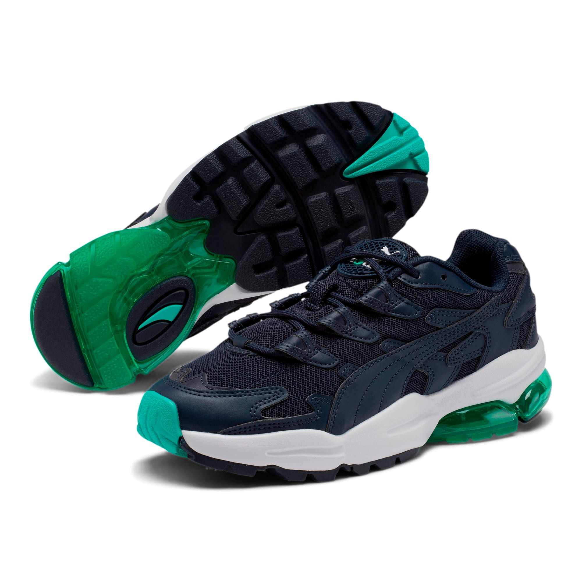 Thumbnail 2 of CELL Alien 51 Sneakers JR, Peacoat-Biscay Green, medium