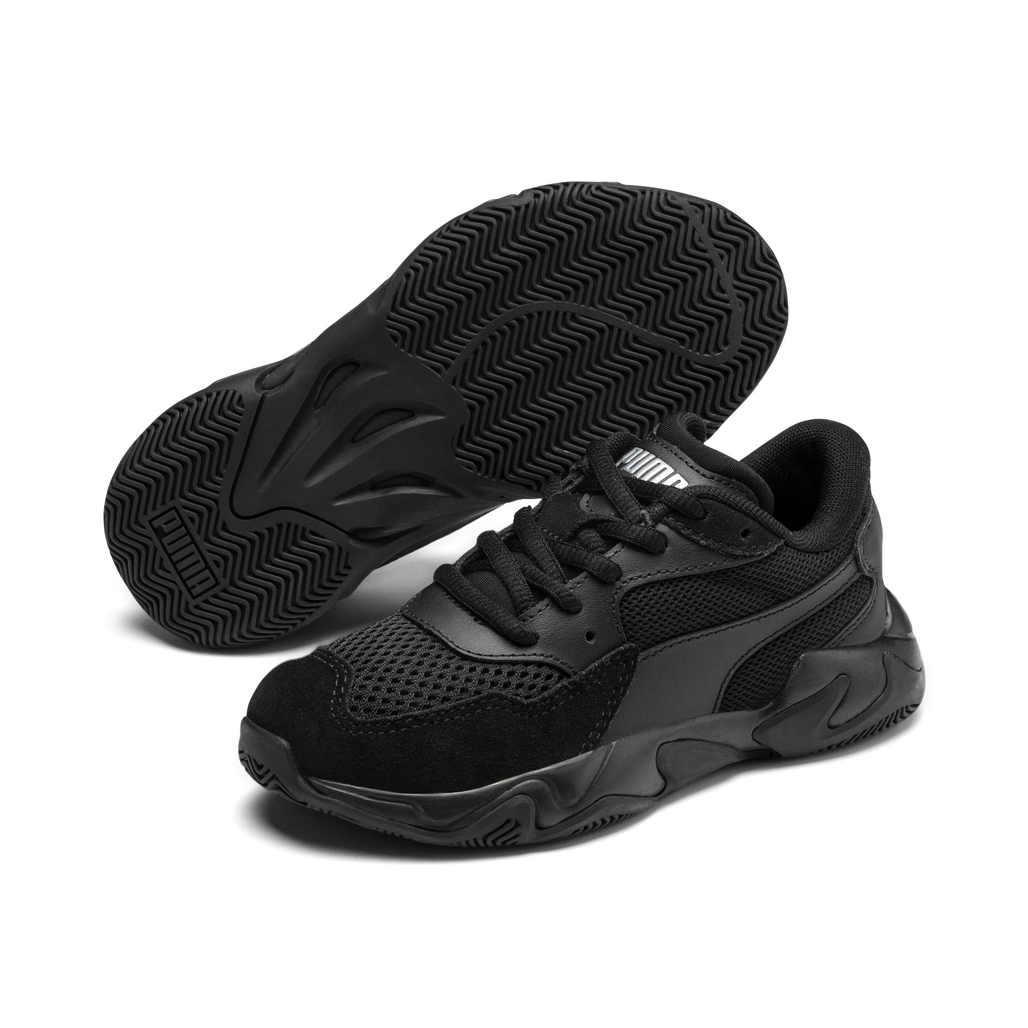 Thumbnail 2 van Storm Origin kindersportschoenen, Puma Black, medium