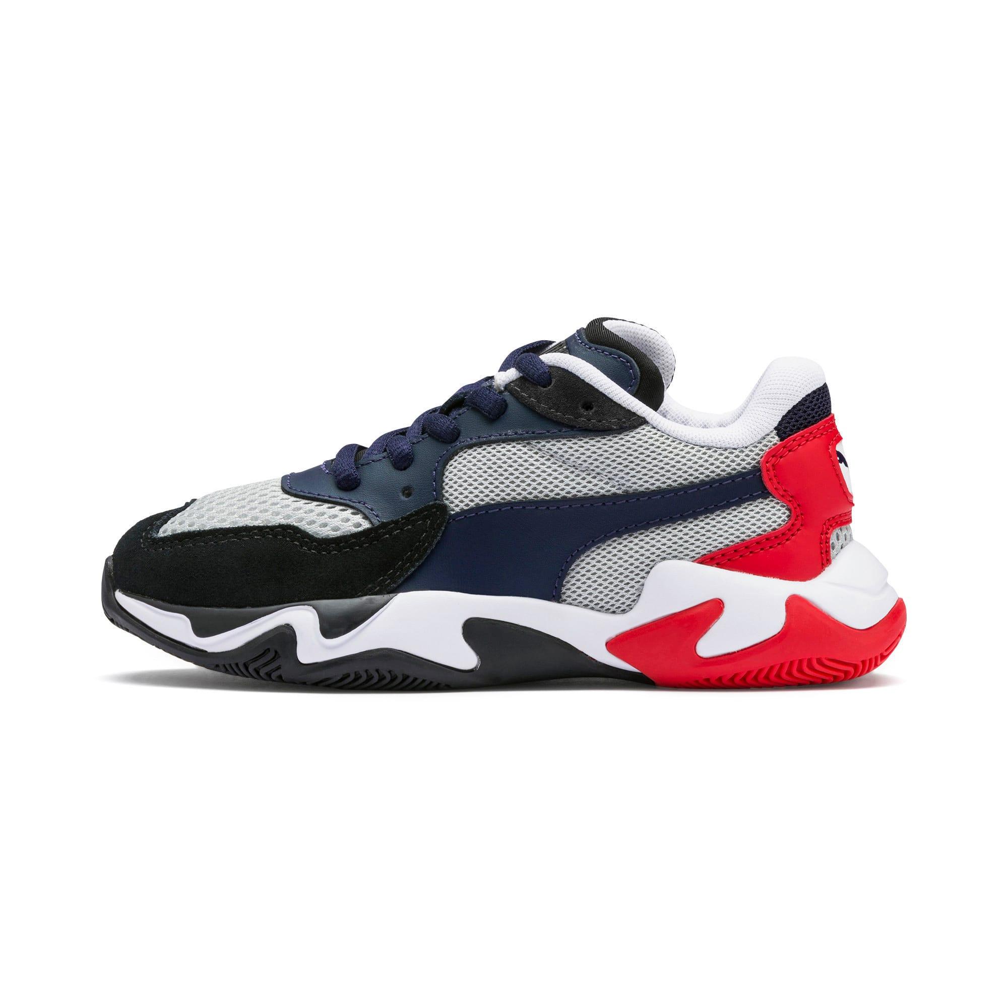 Imagen en miniatura 1 de Zapatillas de niño Storm Origin, Puma Black-High Rise, mediana
