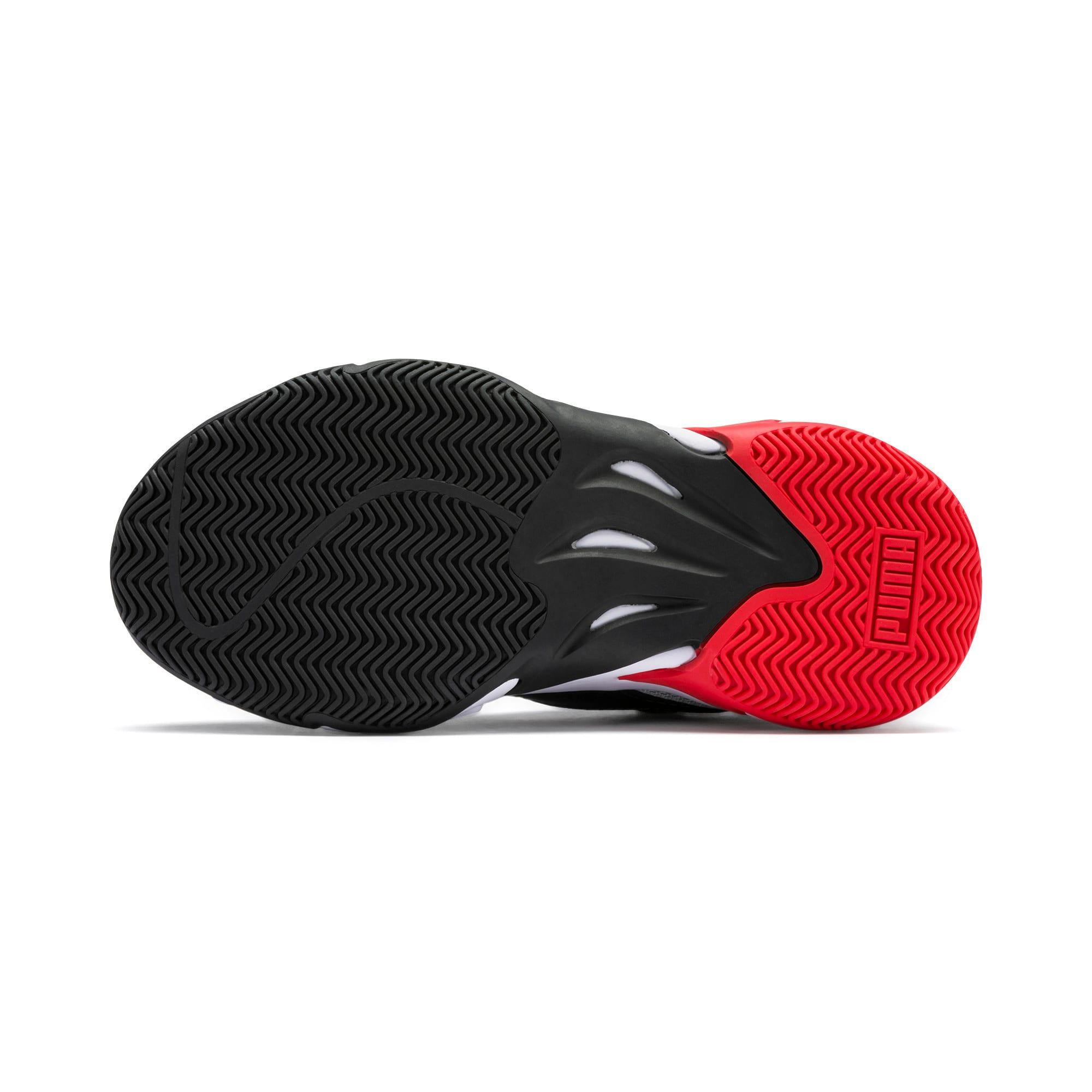Imagen en miniatura 4 de Zapatillas de niño Storm Origin, Puma Black-High Rise, mediana