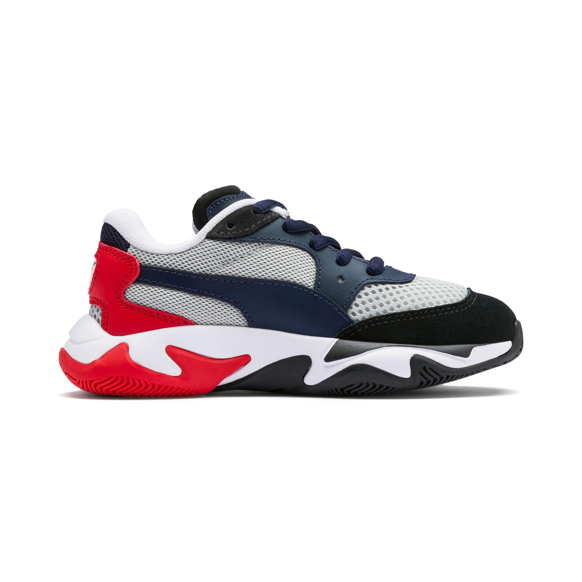 Imagen en miniatura 5 de Zapatillas de niño Storm Origin, Puma Black-High Rise, mediana