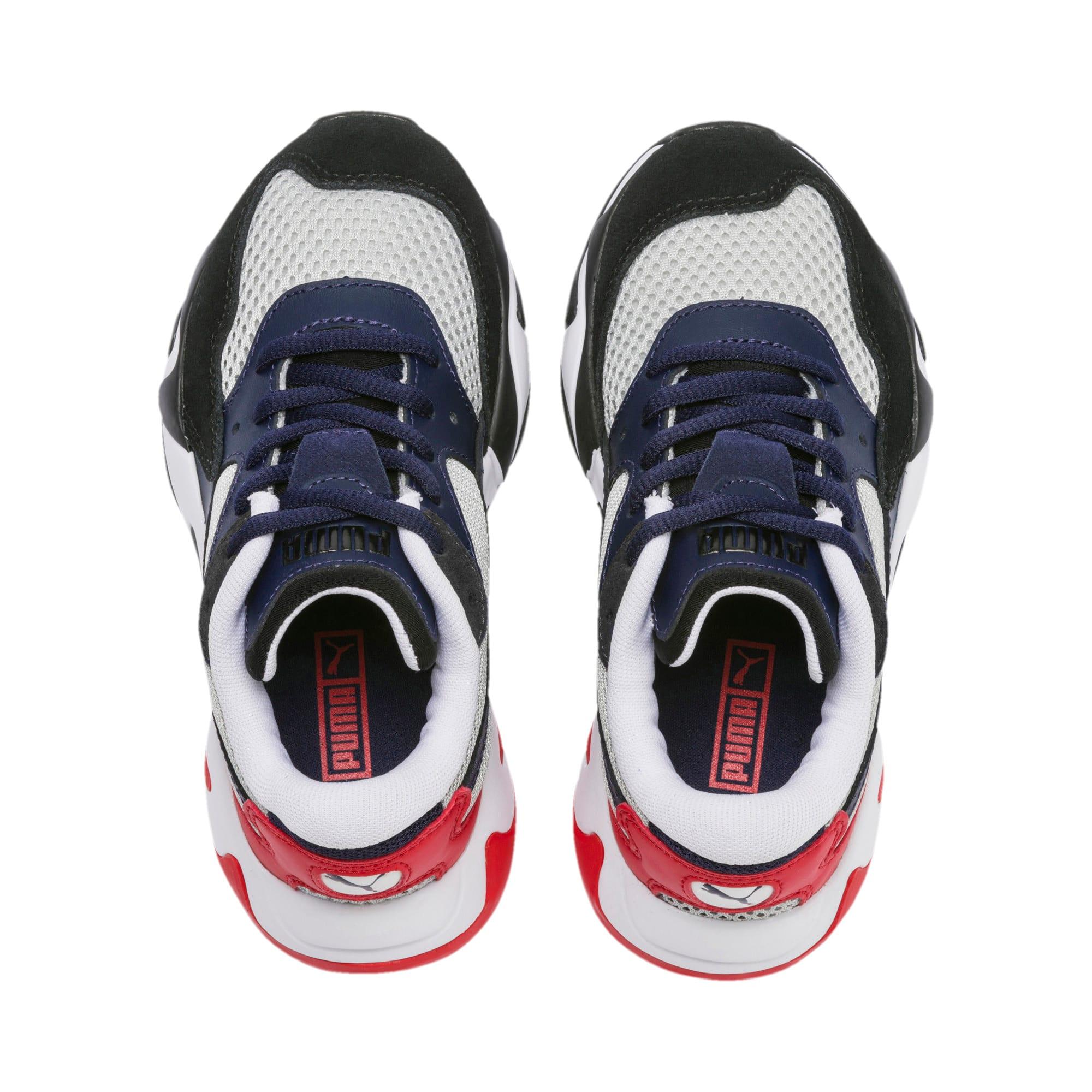 Imagen en miniatura 6 de Zapatillas de niño Storm Origin, Puma Black-High Rise, mediana