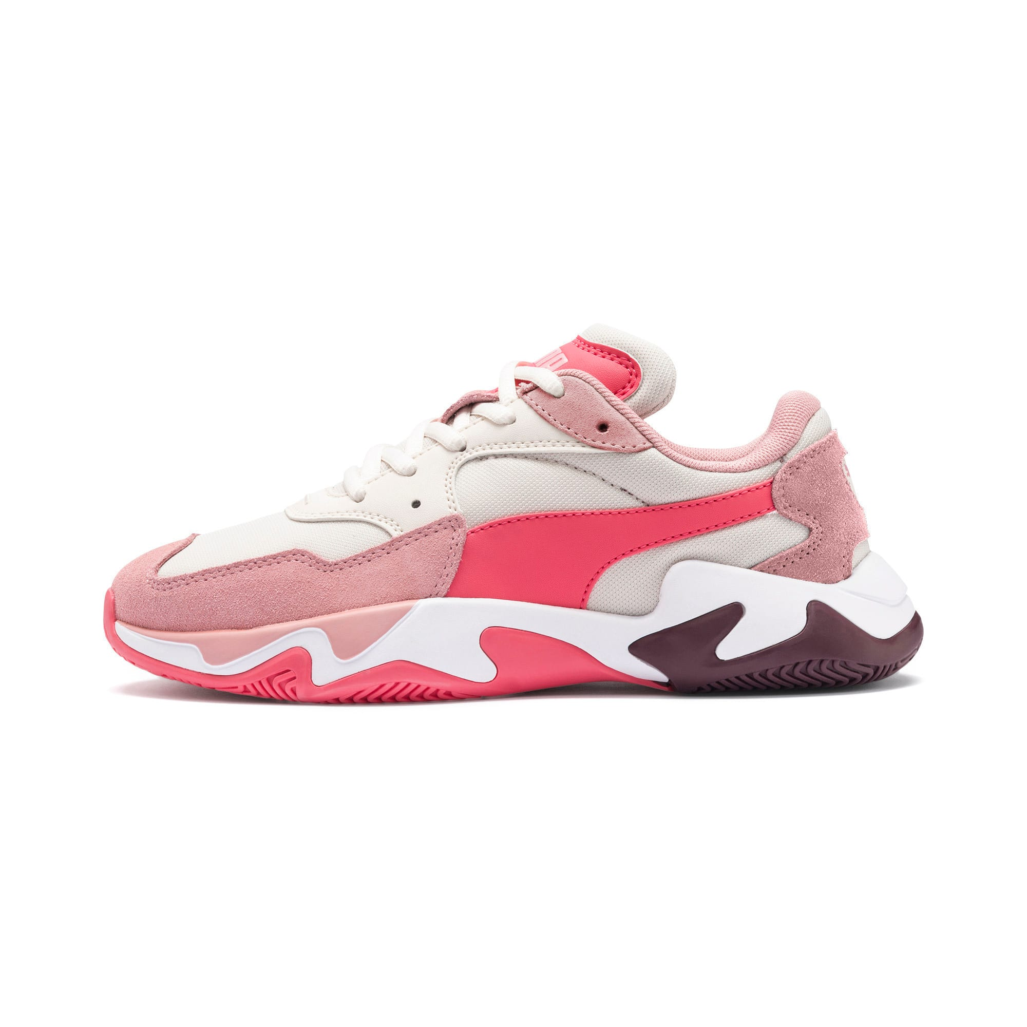 Anteprima 1 di Storm Ray Youth Trainers, Bridal Rose-Pastel Parchment, medio