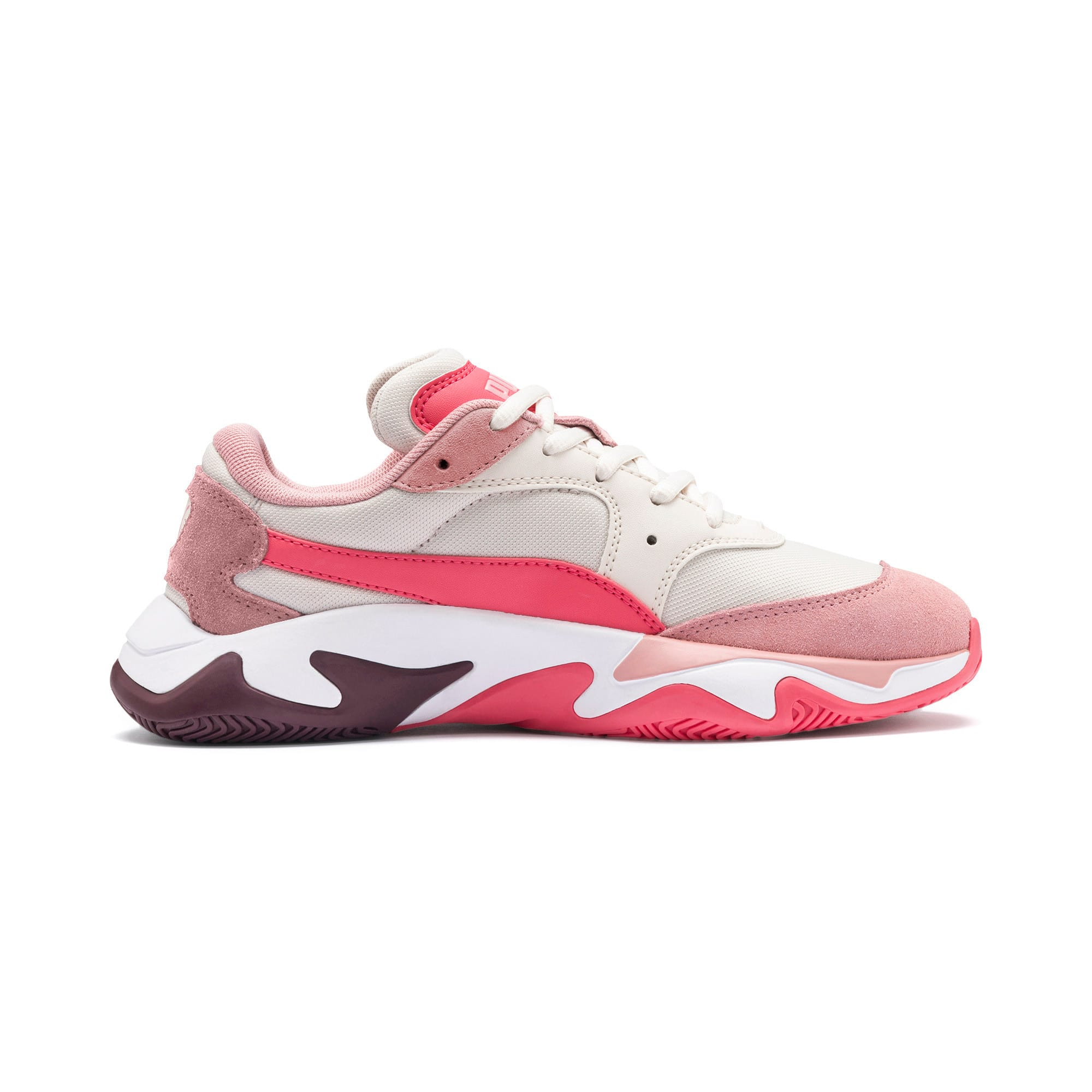 Anteprima 5 di Storm Ray Youth Trainers, Bridal Rose-Pastel Parchment, medio