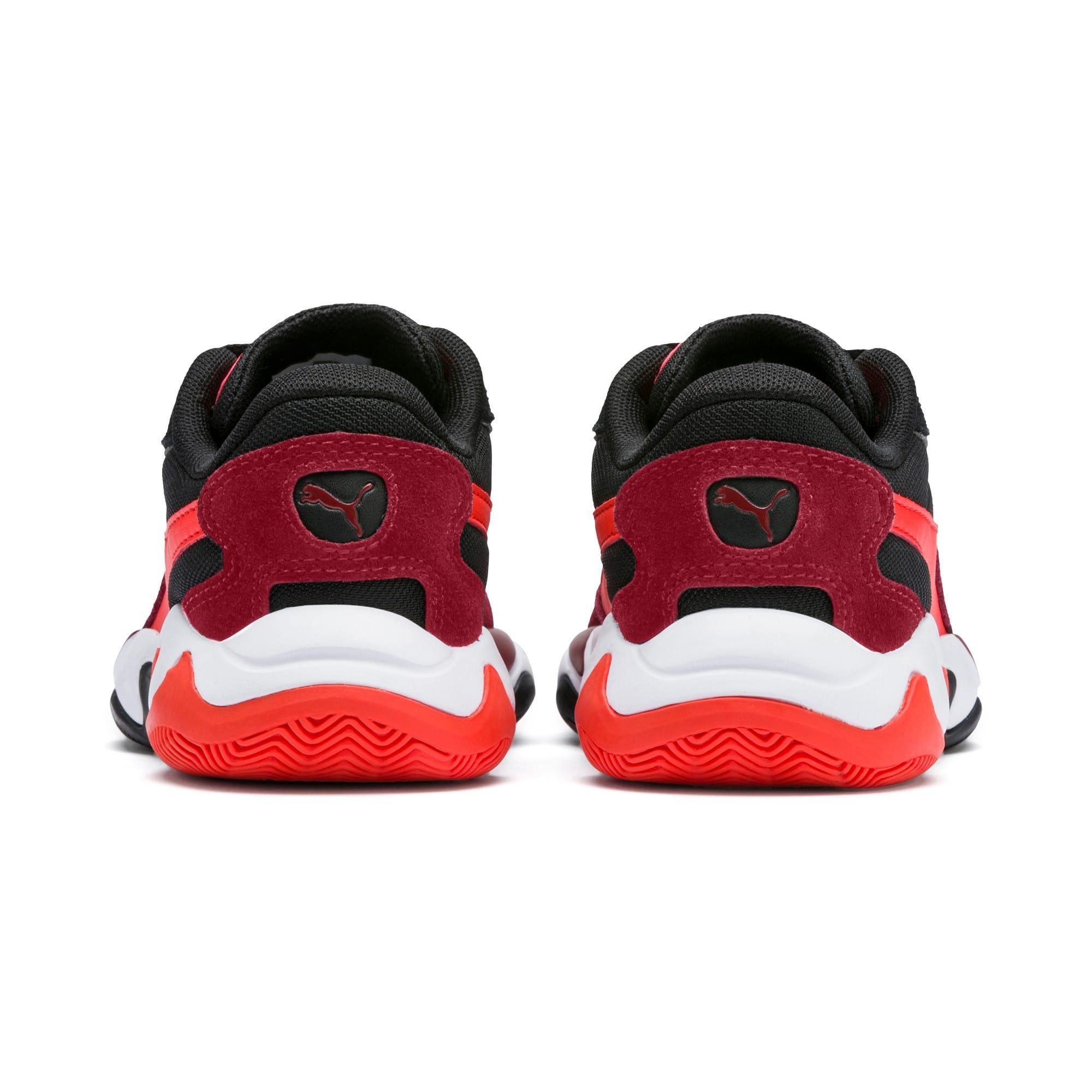 Miniatura 3 de Zapatos Storm Ray para niño pequeño, Rhubarb-Puma Black, mediano