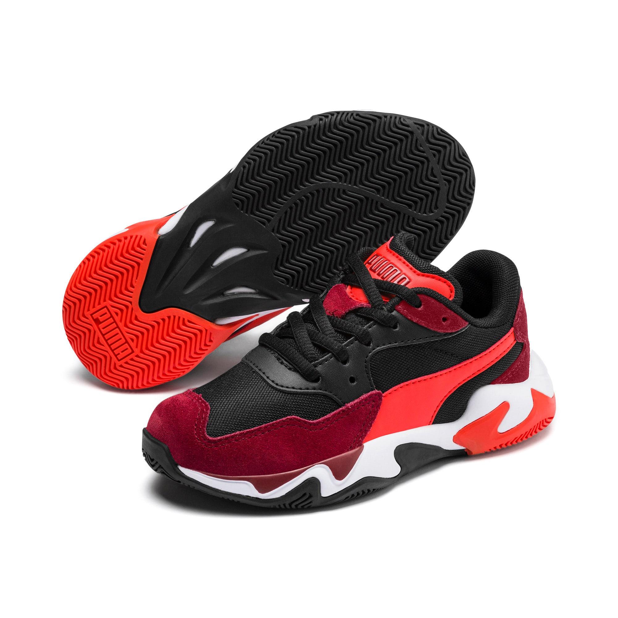 Miniatura 2 de Zapatos Storm Ray para niño pequeño, Rhubarb-Puma Black, mediano