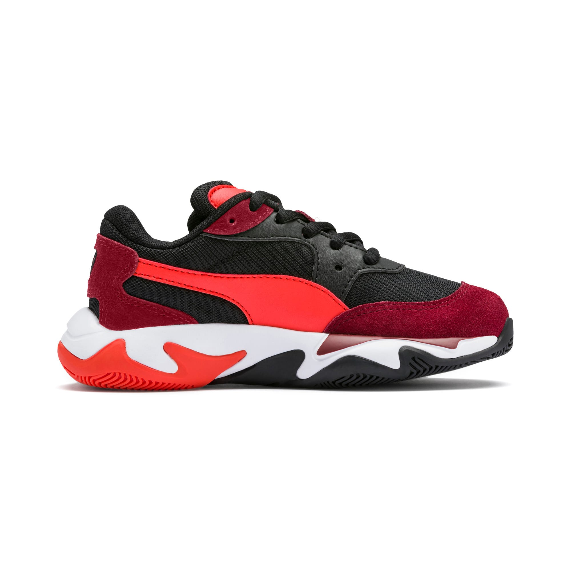 Miniatura 5 de Zapatos Storm Ray para niño pequeño, Rhubarb-Puma Black, mediano
