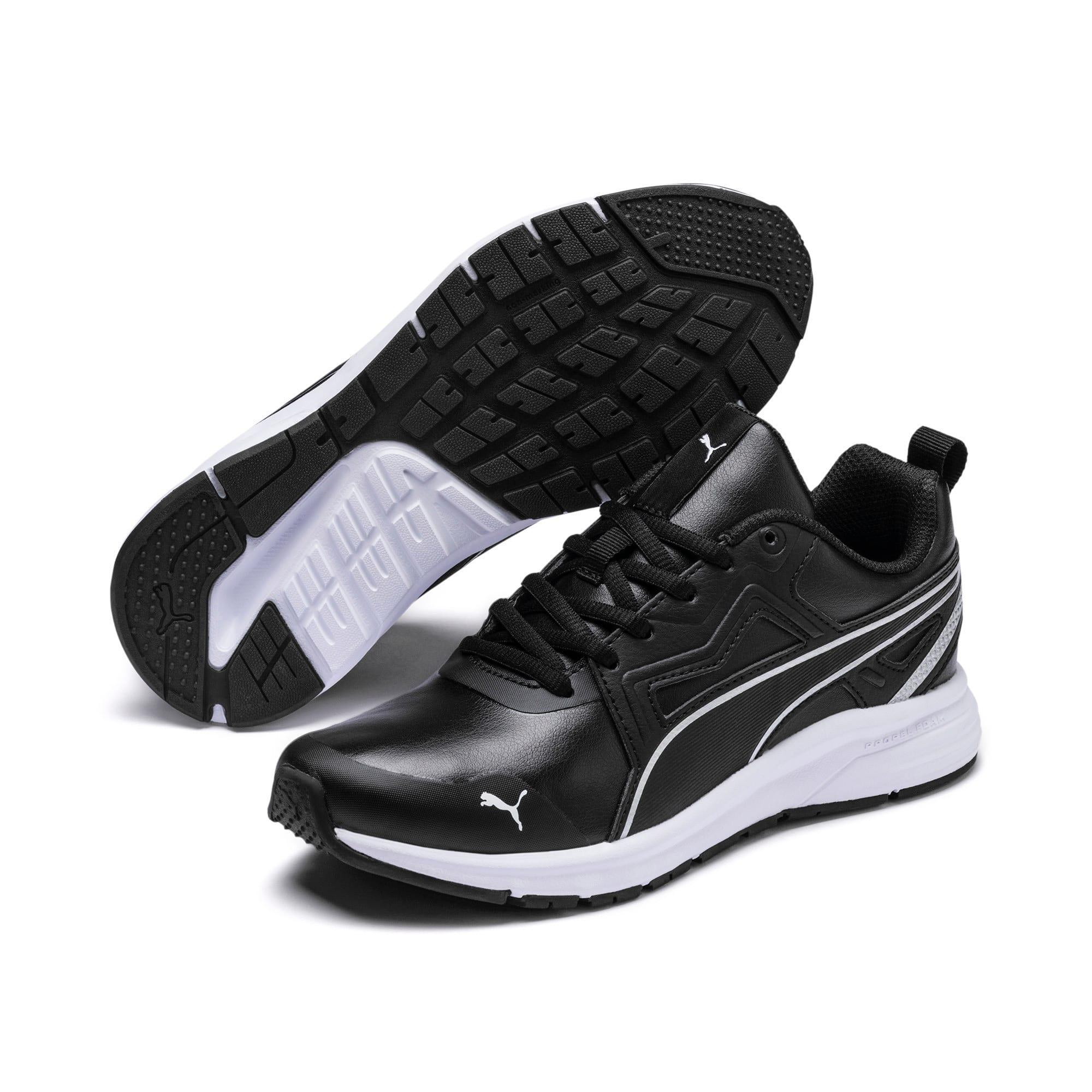 Thumbnail 2 of Pure Jogger SL Sneakers JR, Puma Black-Puma Silver-White, medium