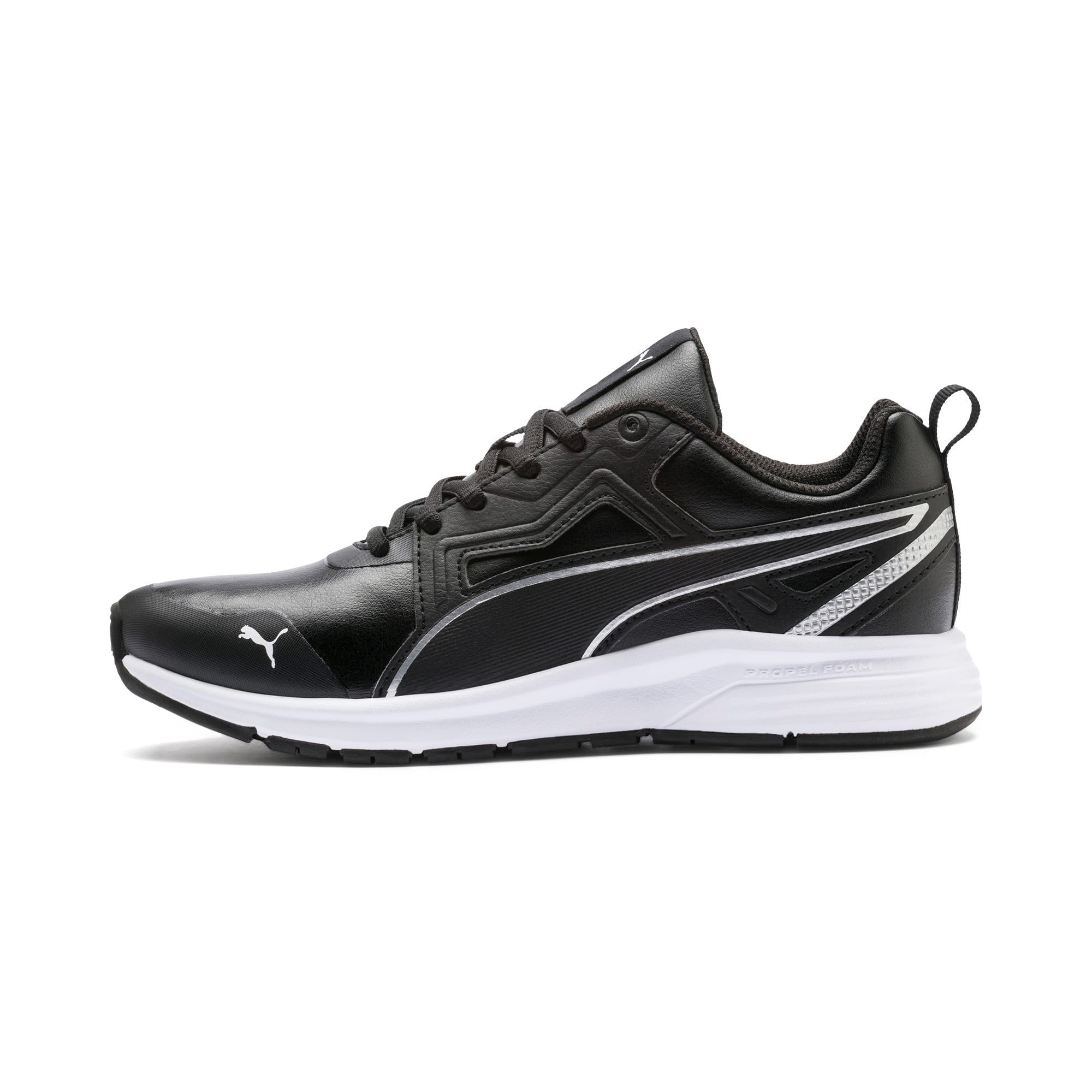 Thumbnail 1 of Pure Jogger SL Sneakers JR, Puma Black-Puma Silver-White, medium