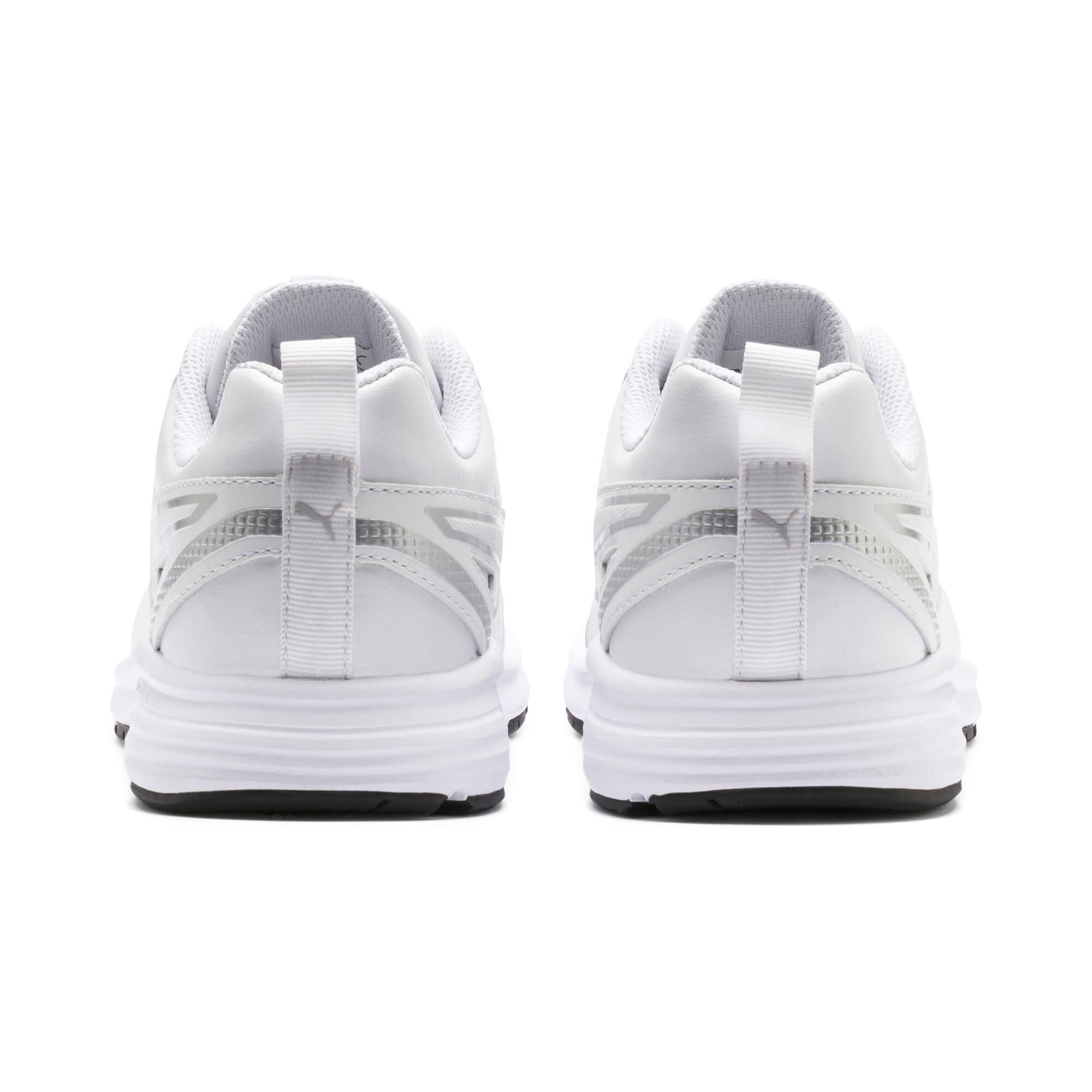 Thumbnail 4 of Pure Jogger SL Sneakers JR, White-Silver-Black-G Violet, medium