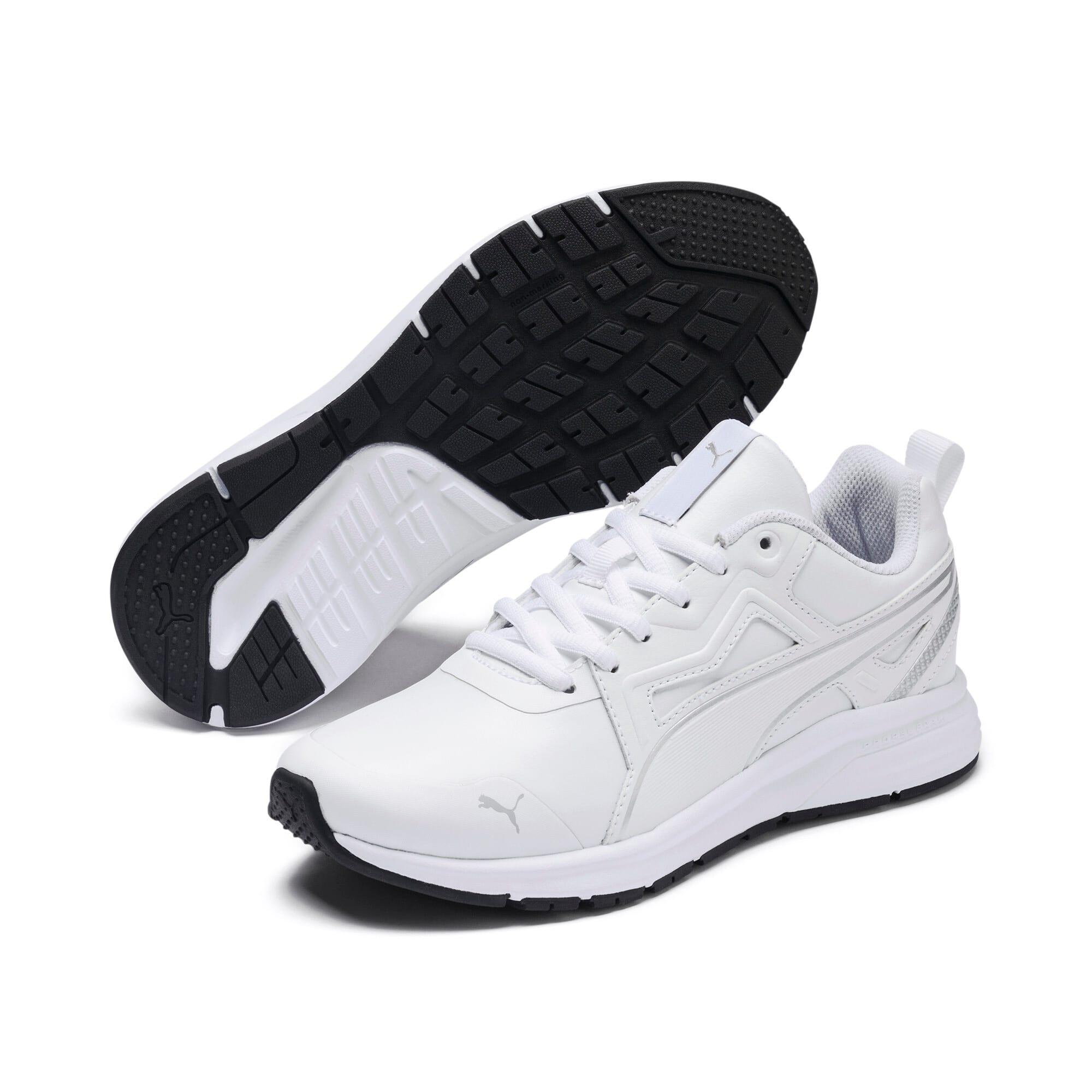 Thumbnail 2 of Pure Jogger SL Sneakers JR, White-Silver-Black-G Violet, medium
