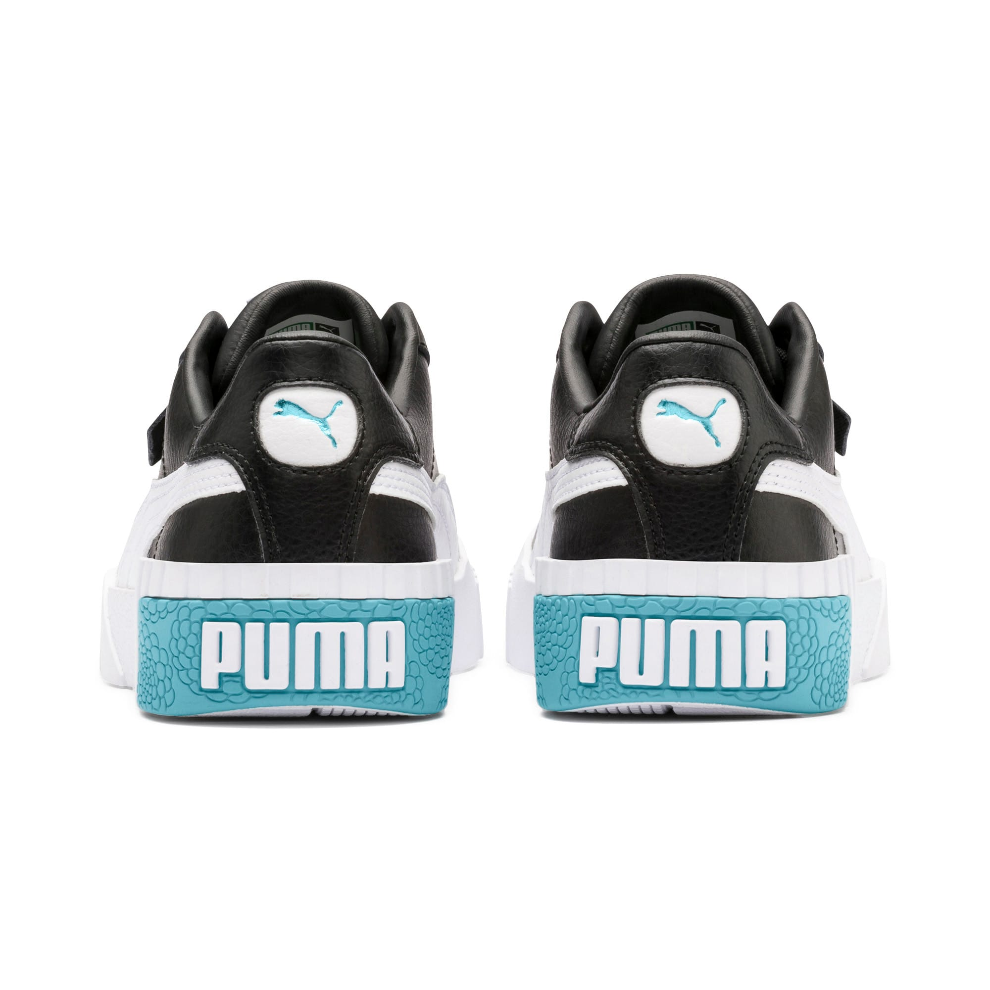 Thumbnail 3 of Cali Youth Trainers, Puma Black-Milky Blue, medium