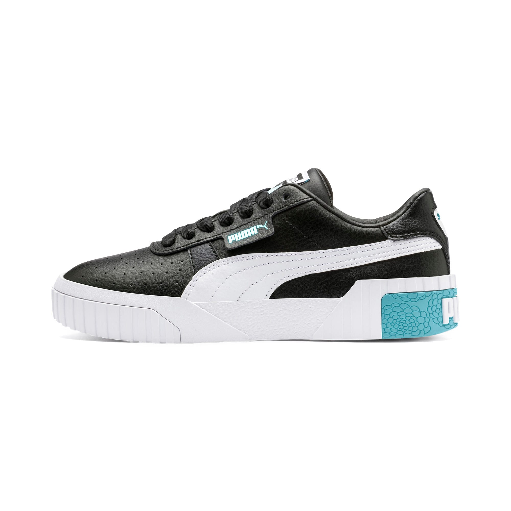 Thumbnail 1 of Cali Youth Trainers, Puma Black-Milky Blue, medium