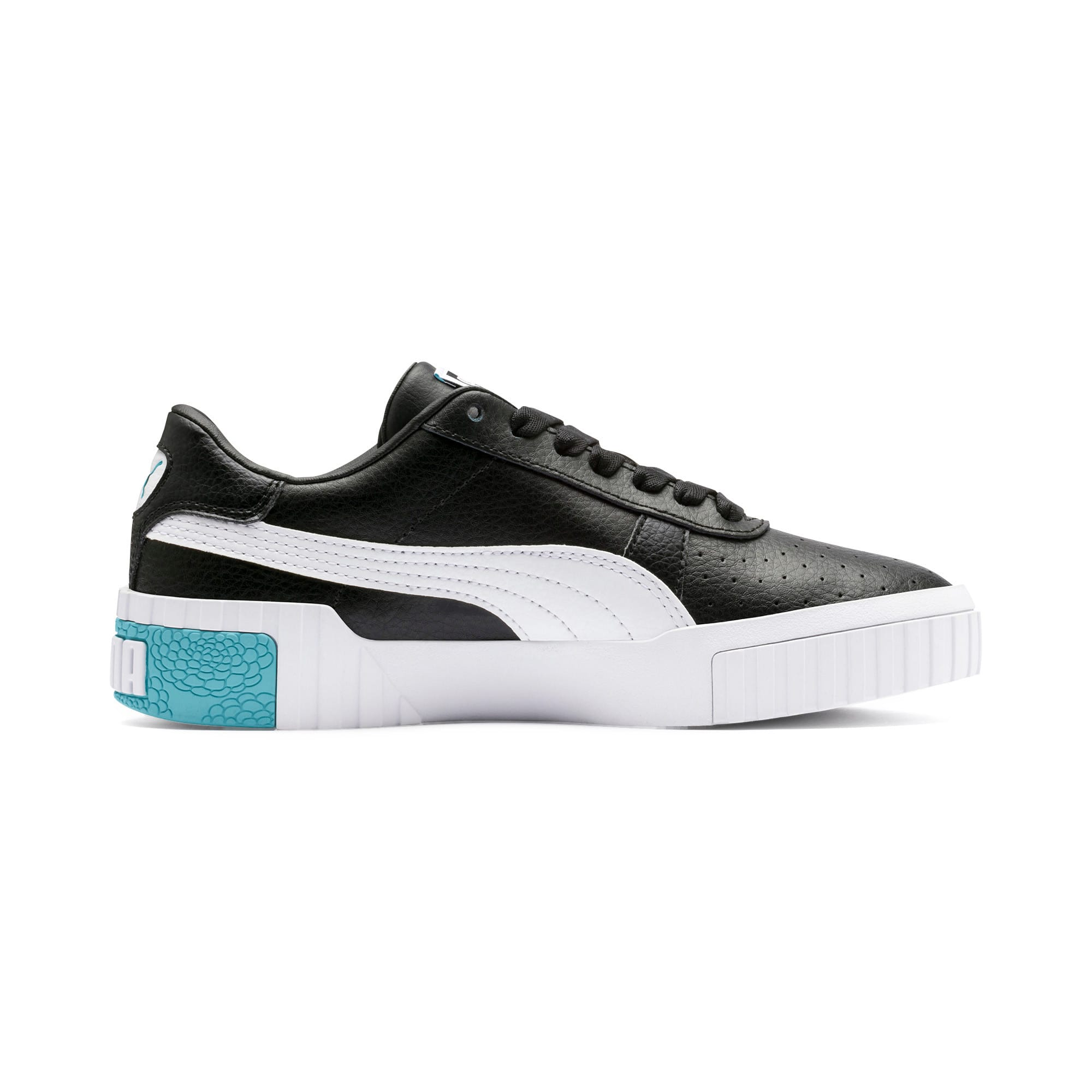 Thumbnail 5 of Cali Youth Trainers, Puma Black-Milky Blue, medium