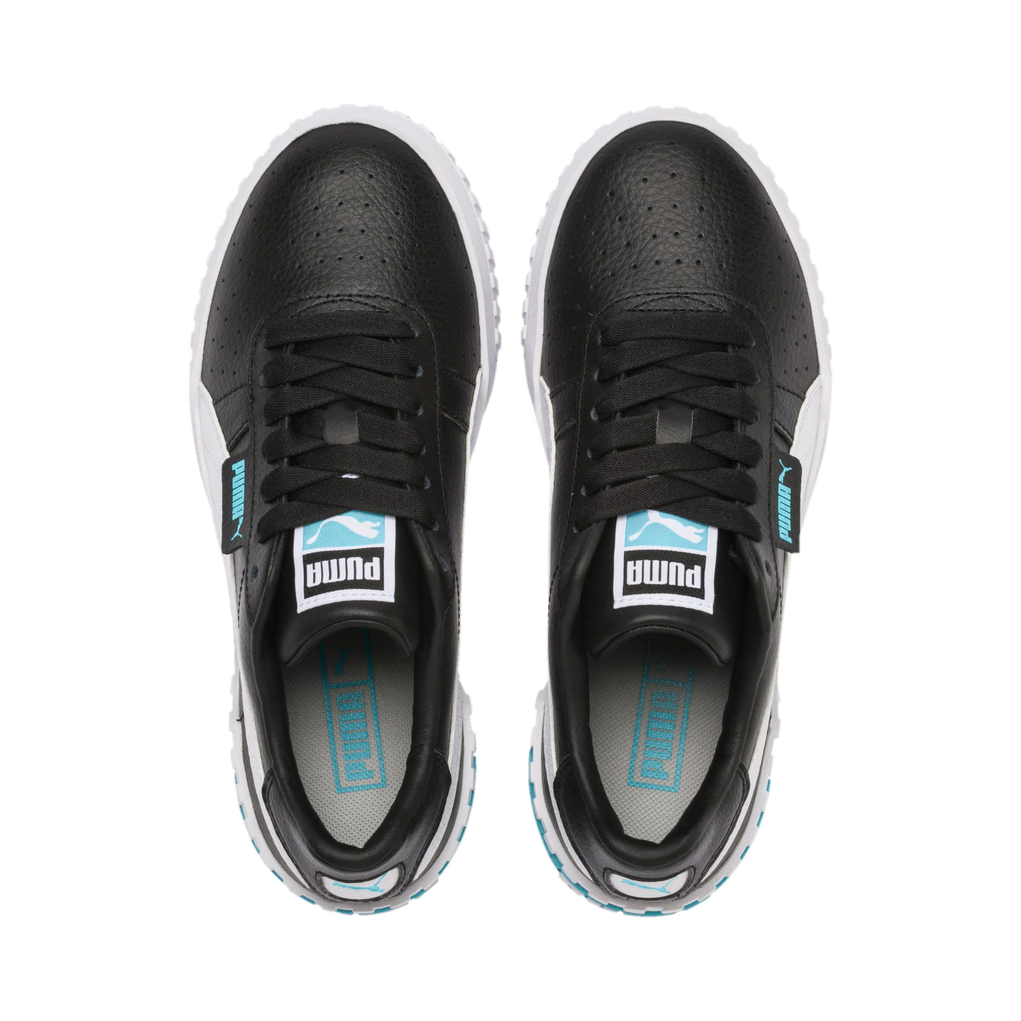 Thumbnail 6 of Cali Youth Trainers, Puma Black-Milky Blue, medium
