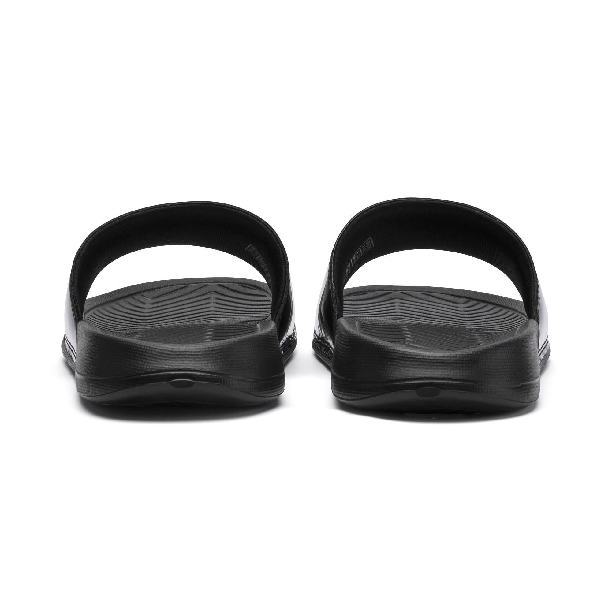 Thumbnail 3 of Popcat Patent Women's Sandals, Puma Black-Puma Black, medium