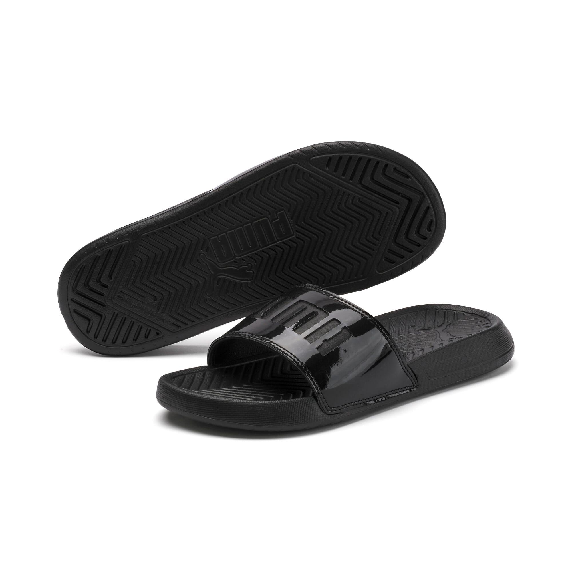Thumbnail 2 of Popcat Patent Women's Sandals, Puma Black-Puma Black, medium