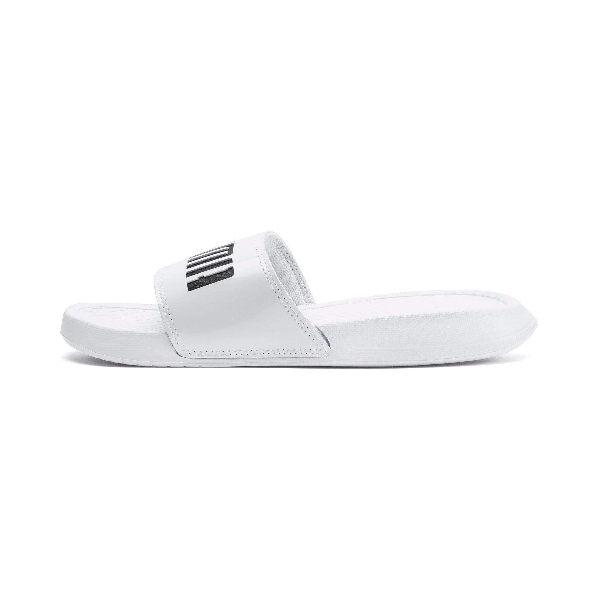 Thumbnail 1 of Popcat Patent Women's Sandals, Puma White-Puma Black, medium