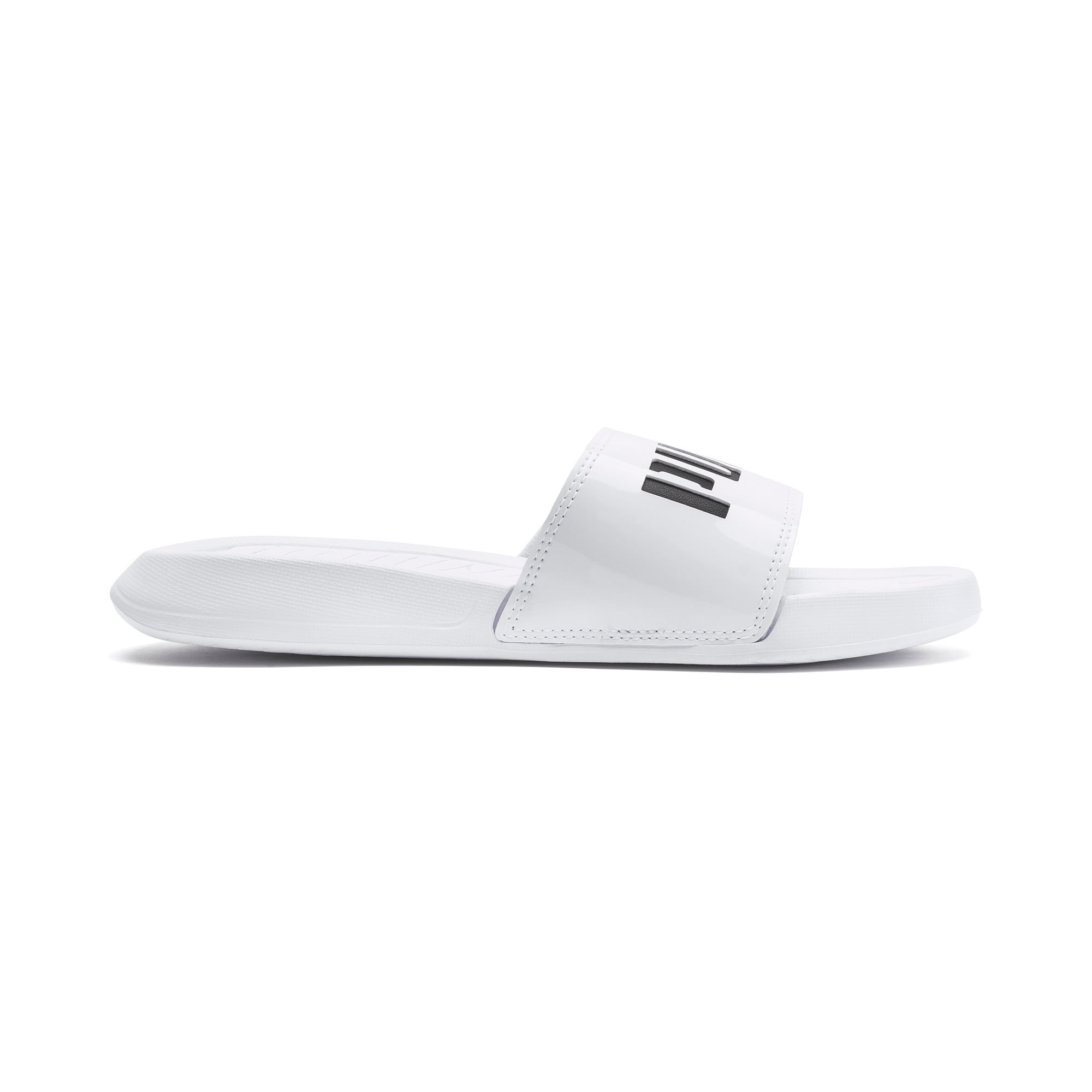 Thumbnail 5 of Popcat Patent Women's Sandals, Puma White-Puma Black, medium