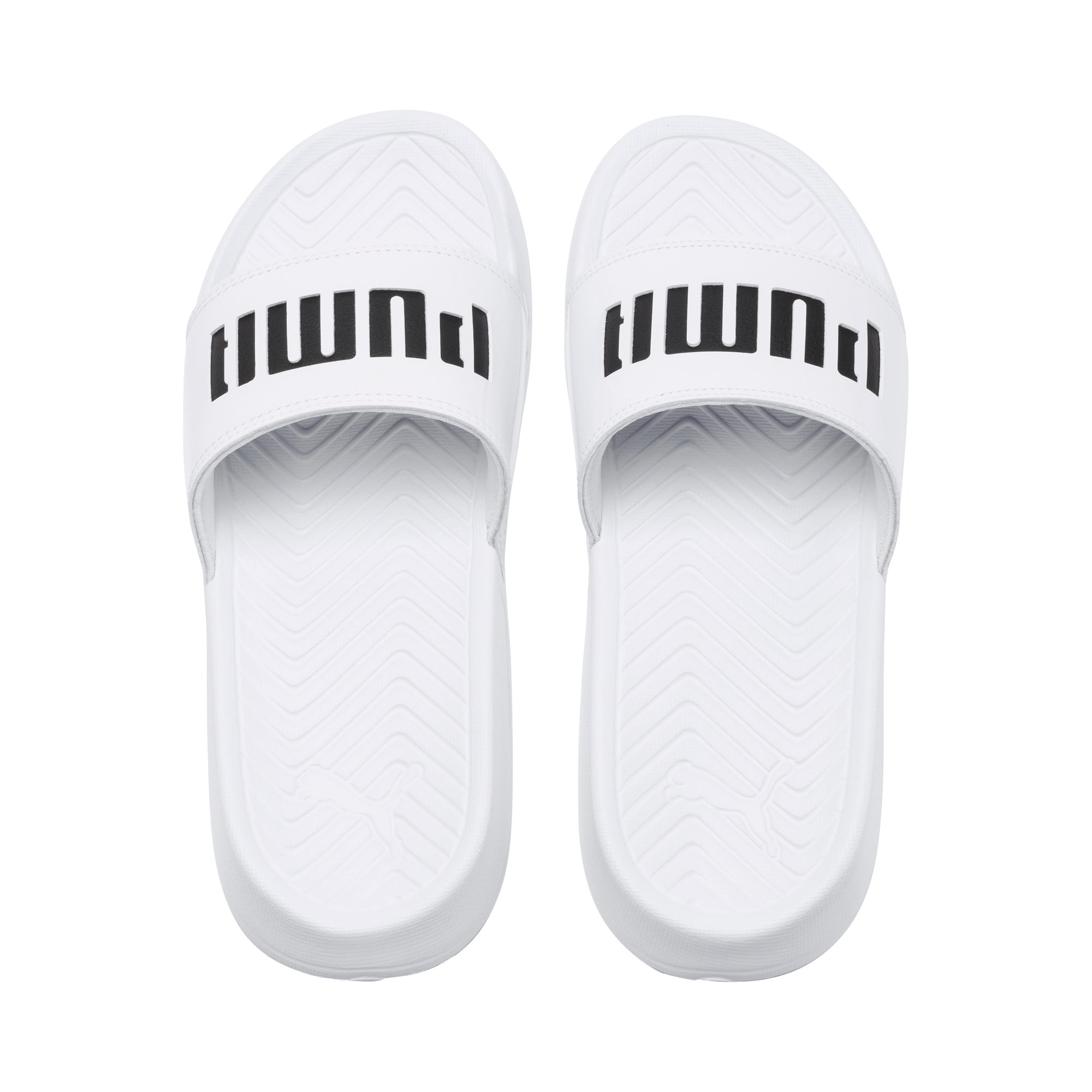 Thumbnail 6 of Popcat Patent Women's Sandals, Puma White-Puma Black, medium