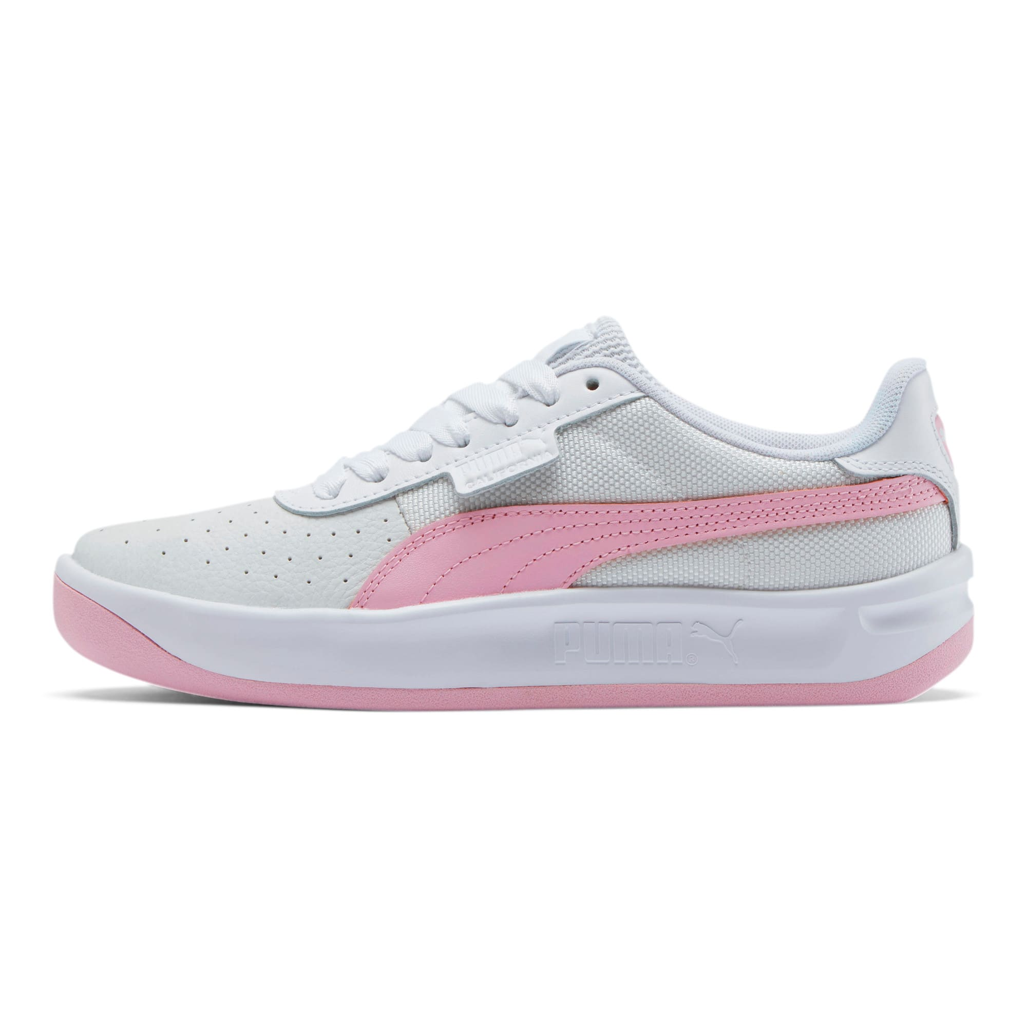 Thumbnail 1 of California Women's Sneakers, Puma Wht-Pale Pink-Puma Wht, medium