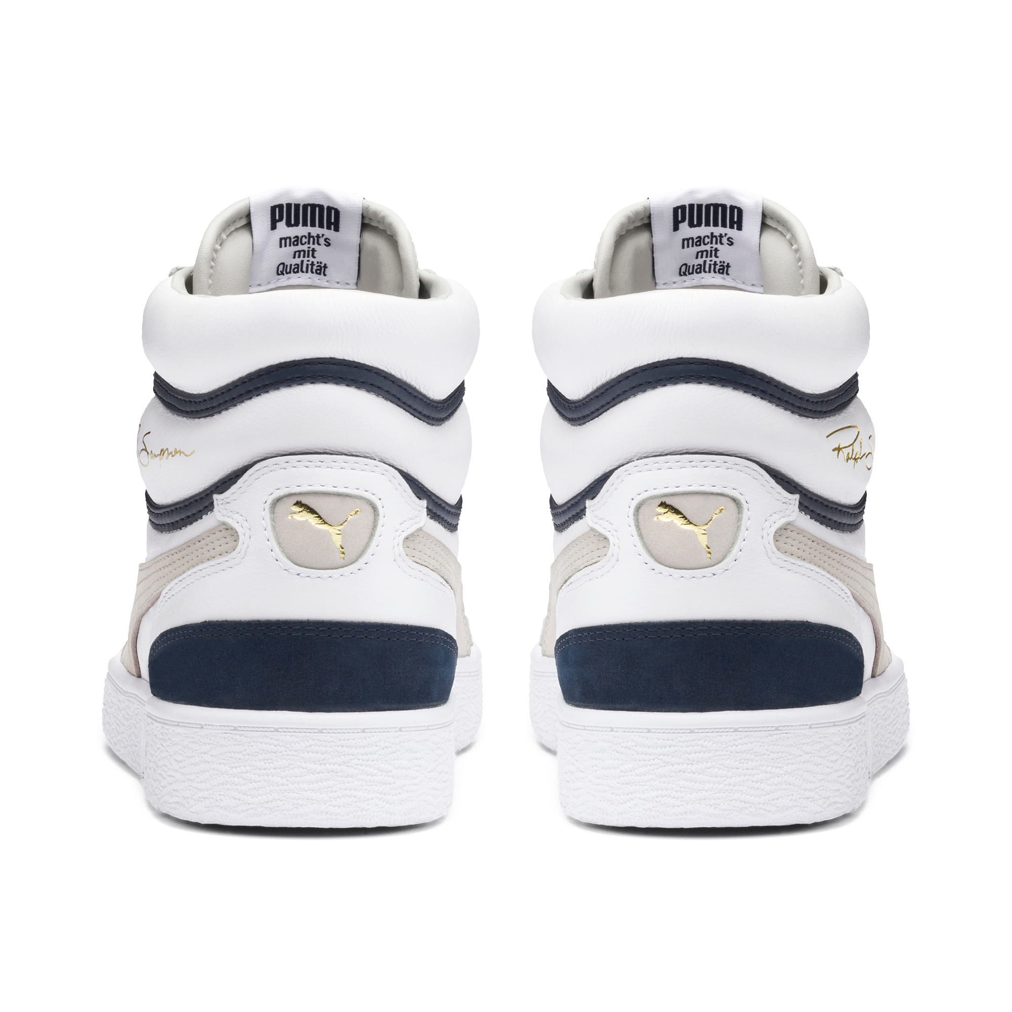 Thumbnail 3 of Ralph Sampson Mid OG Sneakers, Puma Wht-Gray Violet-Peacoat, medium