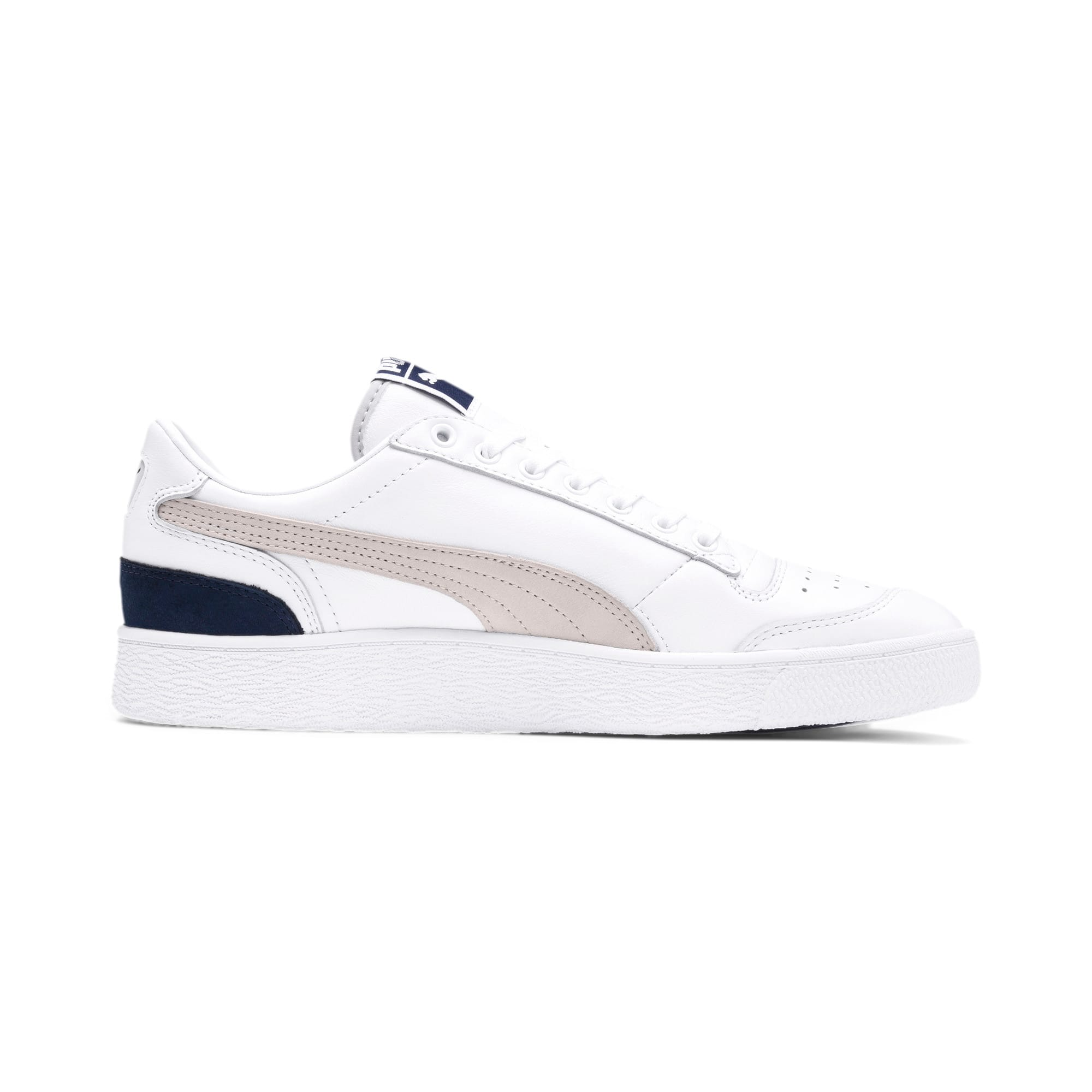 Thumbnail 6 of Ralph Sampson Low OG Trainers, Puma Wht-Gray Violet-Peacoat, medium
