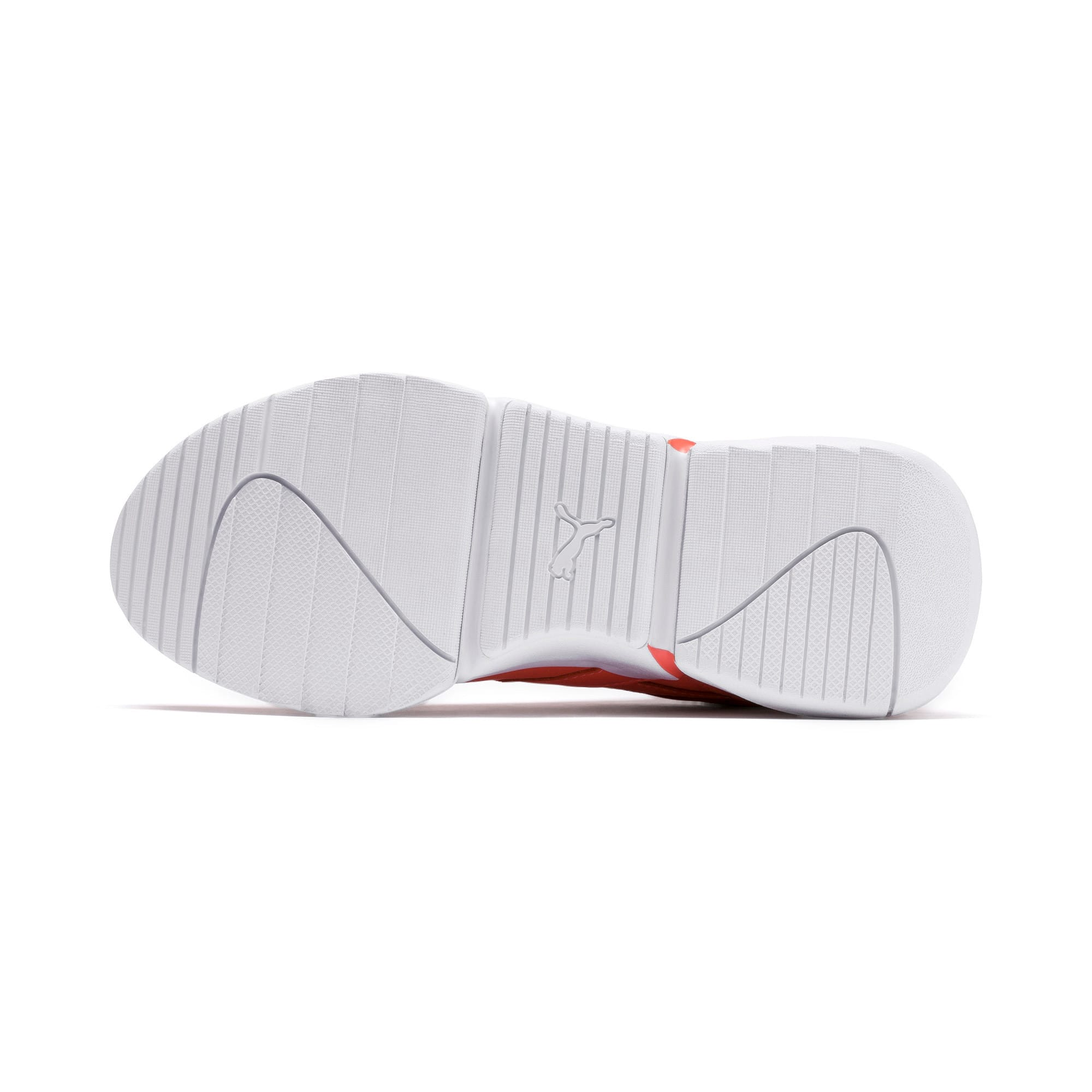 Thumbnail 4 of PUMA x PANTONE Nova Women's Trainers, Living Coral-Puma White, medium
