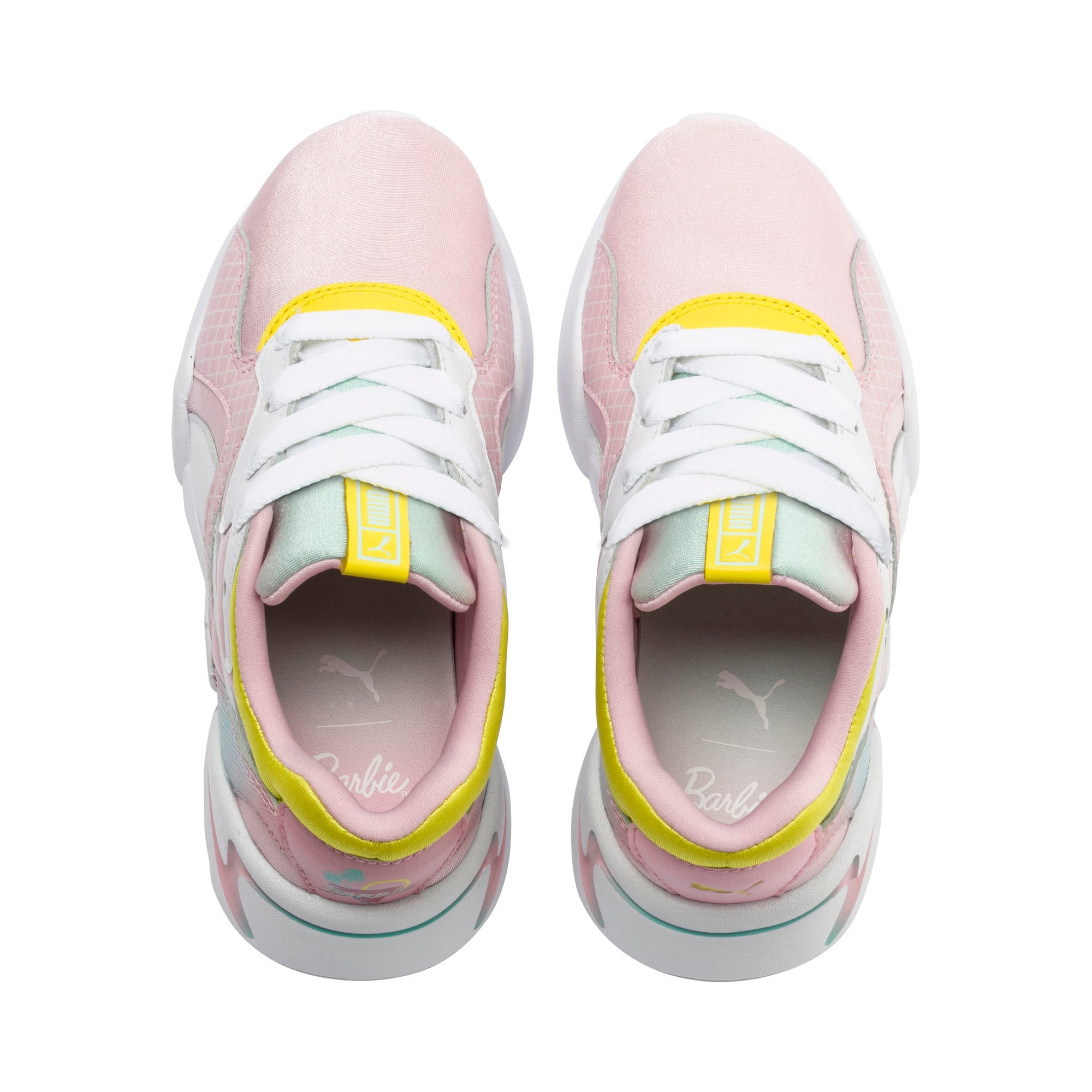 Thumbnail 6 of Nova x Barbie Little Kids' Shoes, Orchid Pink-Puma White, medium