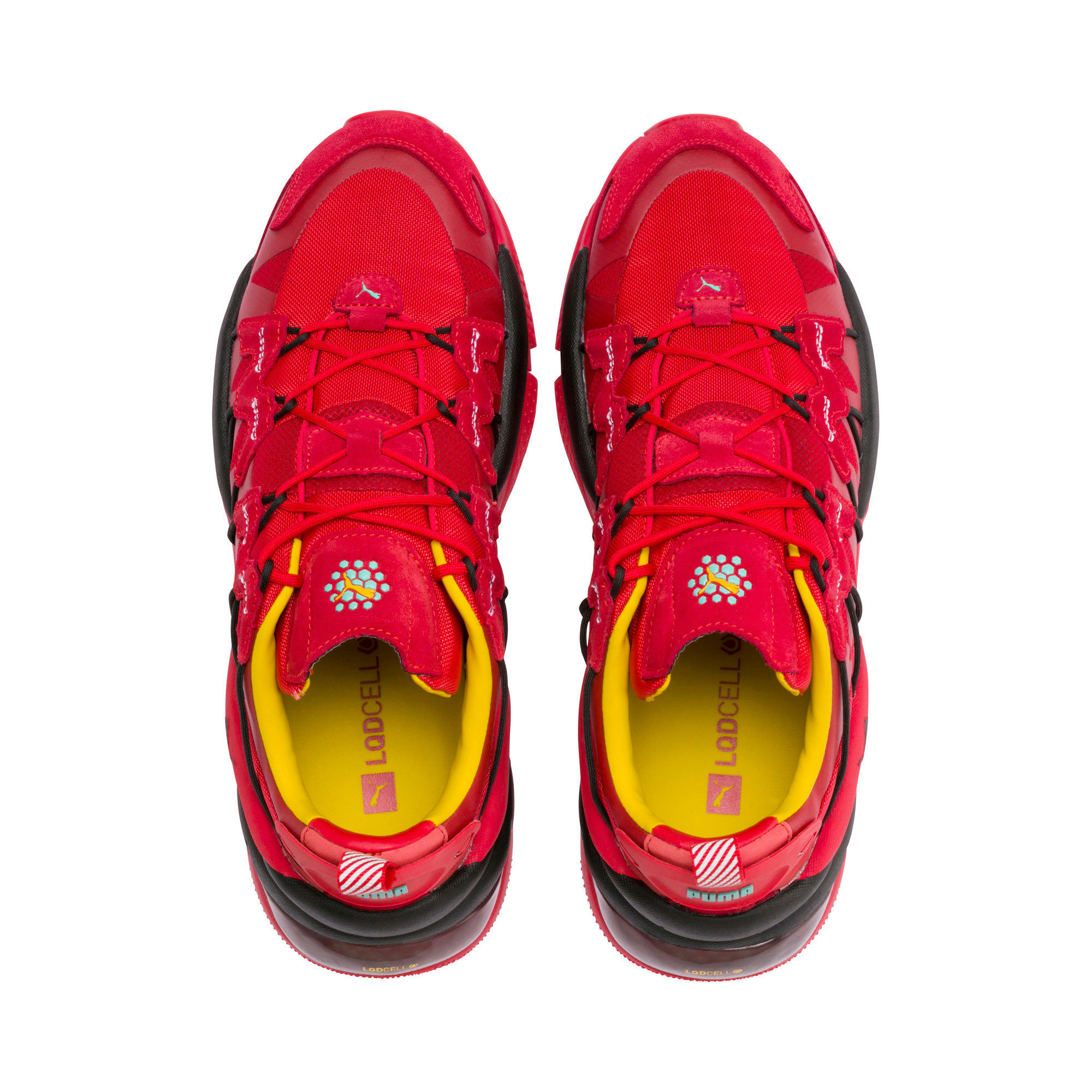 Thumbnail 6 of LQDCELL Omega Manga Cult Training Shoes, High Risk Red, medium