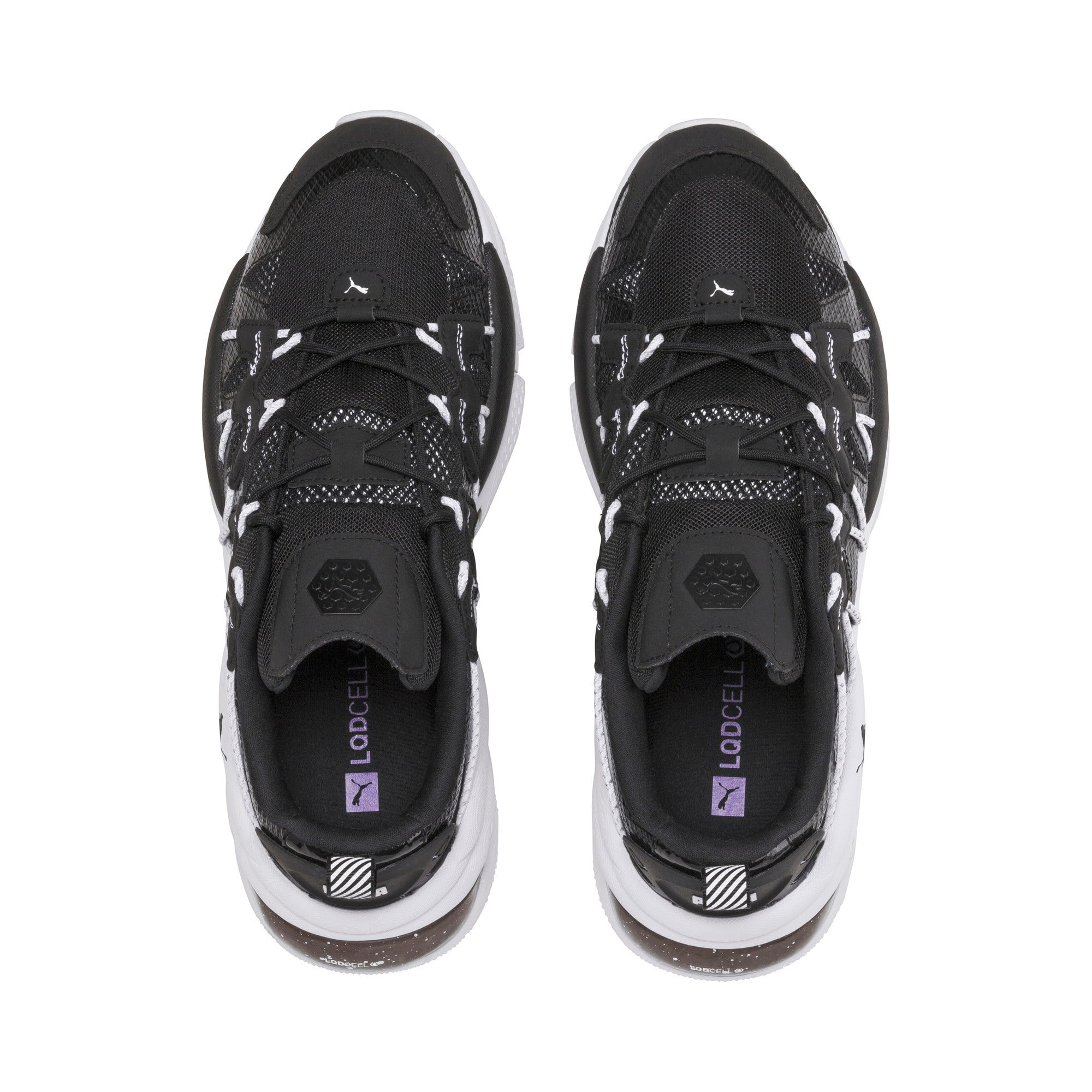 Thumbnail 6 of LQDCELL Omega Density Sneakers, Puma Black, medium