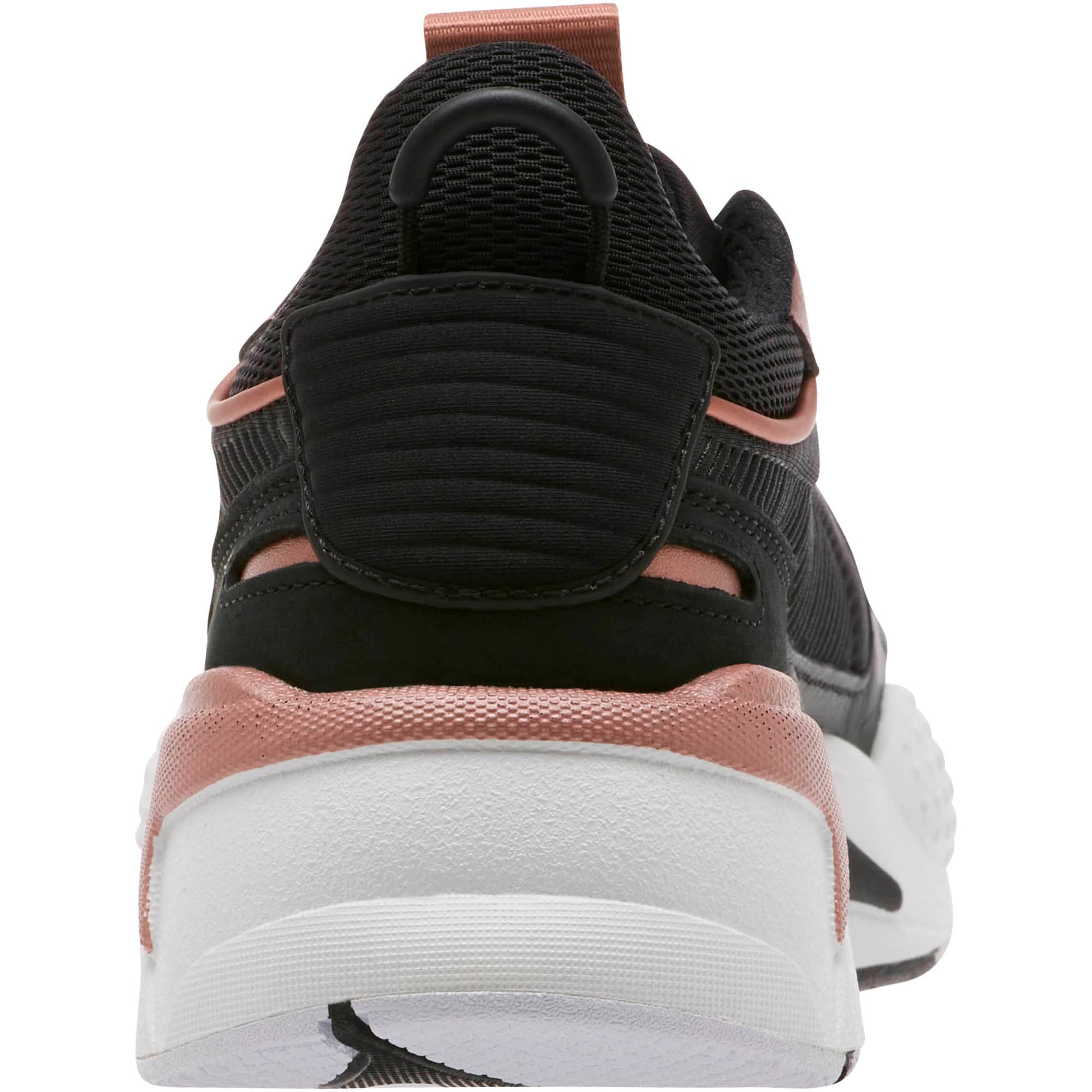 Thumbnail 4 of RS-X Trophy Women's Sneakers, Puma Black-Rose Gold, medium