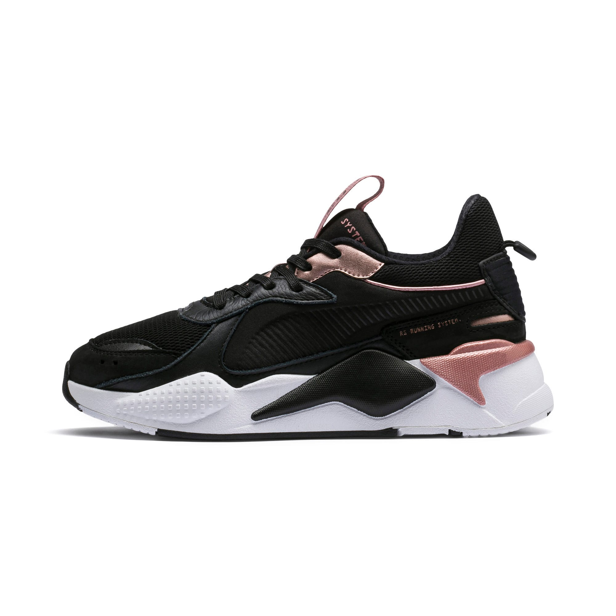 Thumbnail 1 of RS-X Trophy Women's Sneakers, Puma Black-Rose Gold, medium