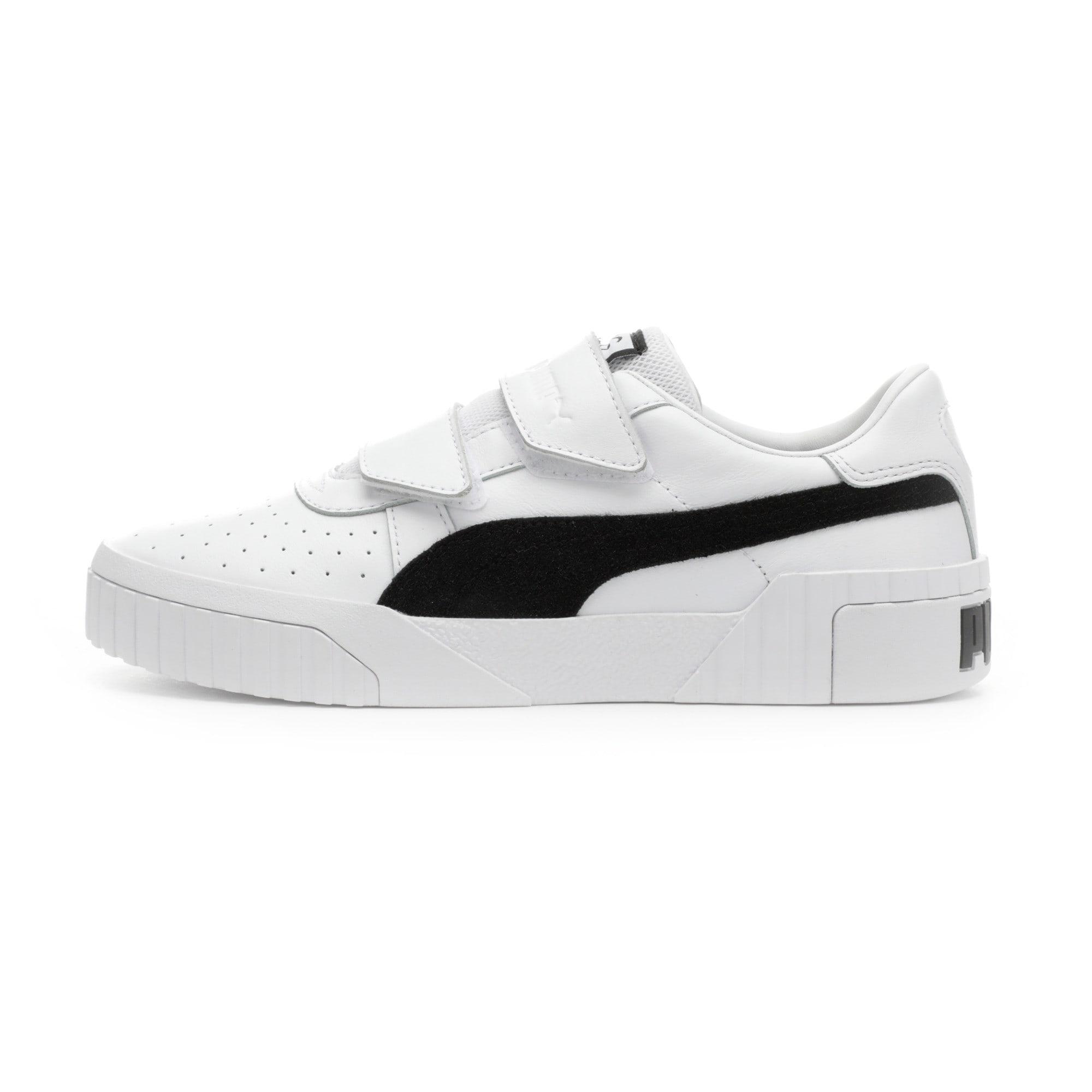 Thumbnail 1 of SG x Cali B+W Women's Sneakers, Puma White-Puma Black, medium