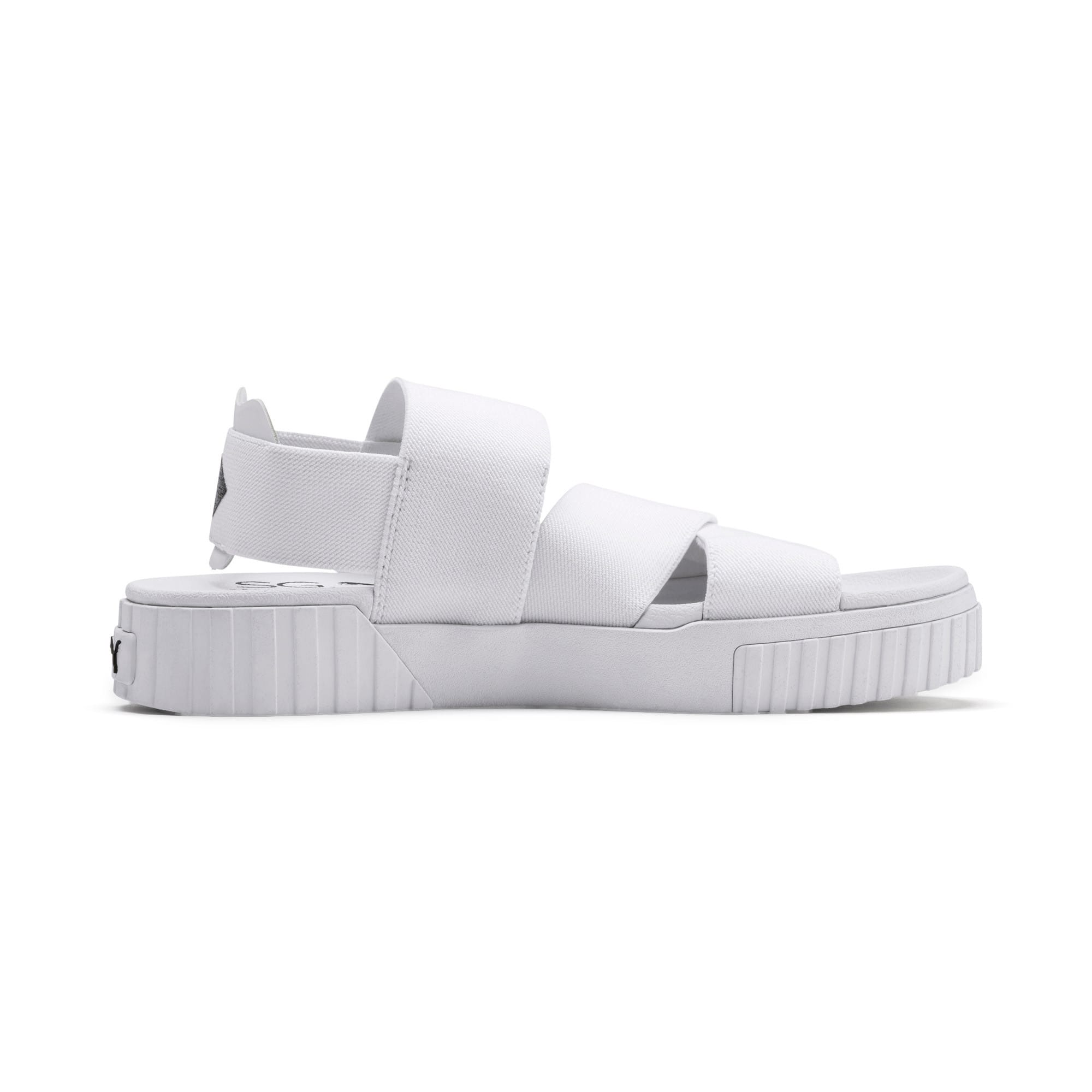 Thumbnail 6 of PUMA x SELENA GOMEZ Cali Damen Sandalen, Puma White, medium