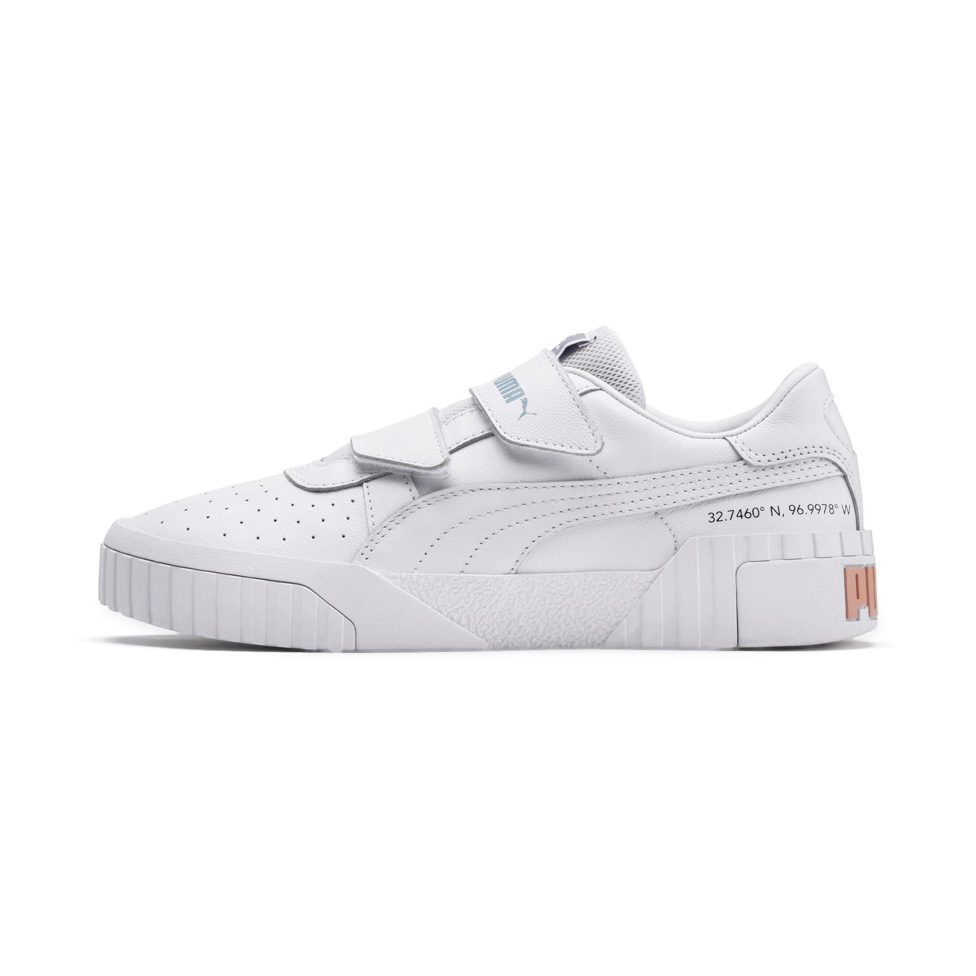 Thumbnail 1 of SG x Cali Women's Sneakers, Puma White-Puma White, medium