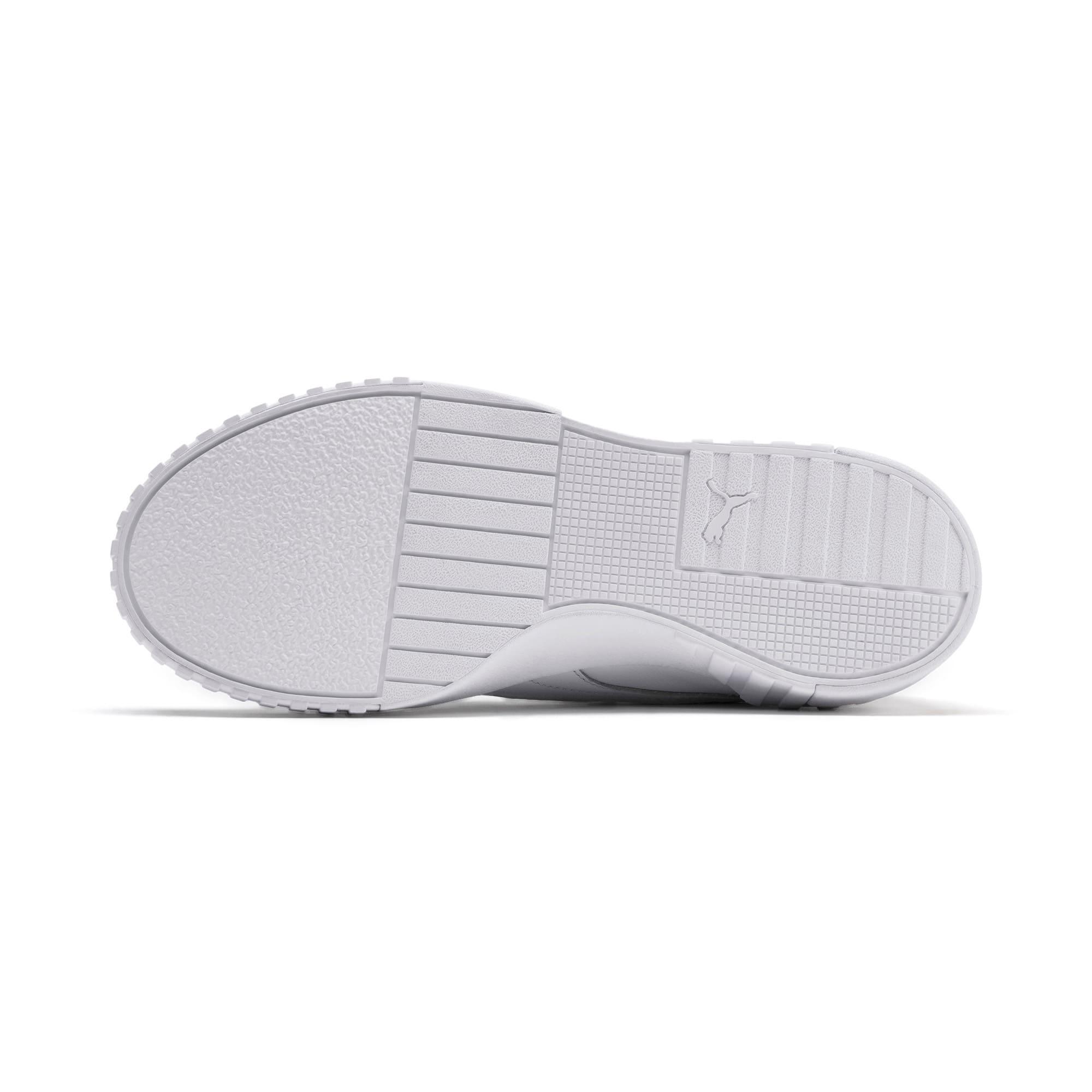 Thumbnail 5 of SG x Cali Women's Sneakers, Puma White-Puma White, medium