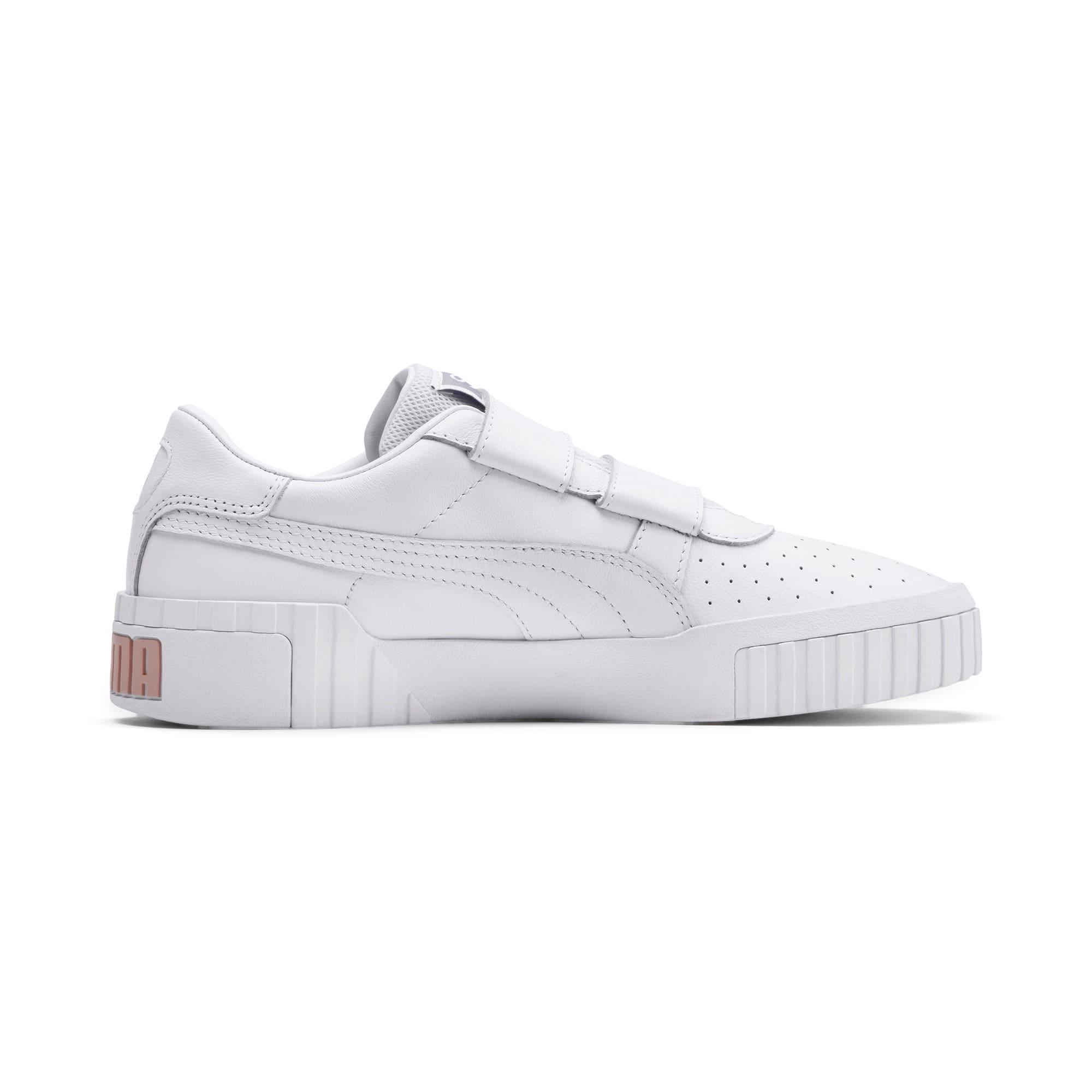 Thumbnail 6 of SG x Cali Women's Sneakers, Puma White-Puma White, medium