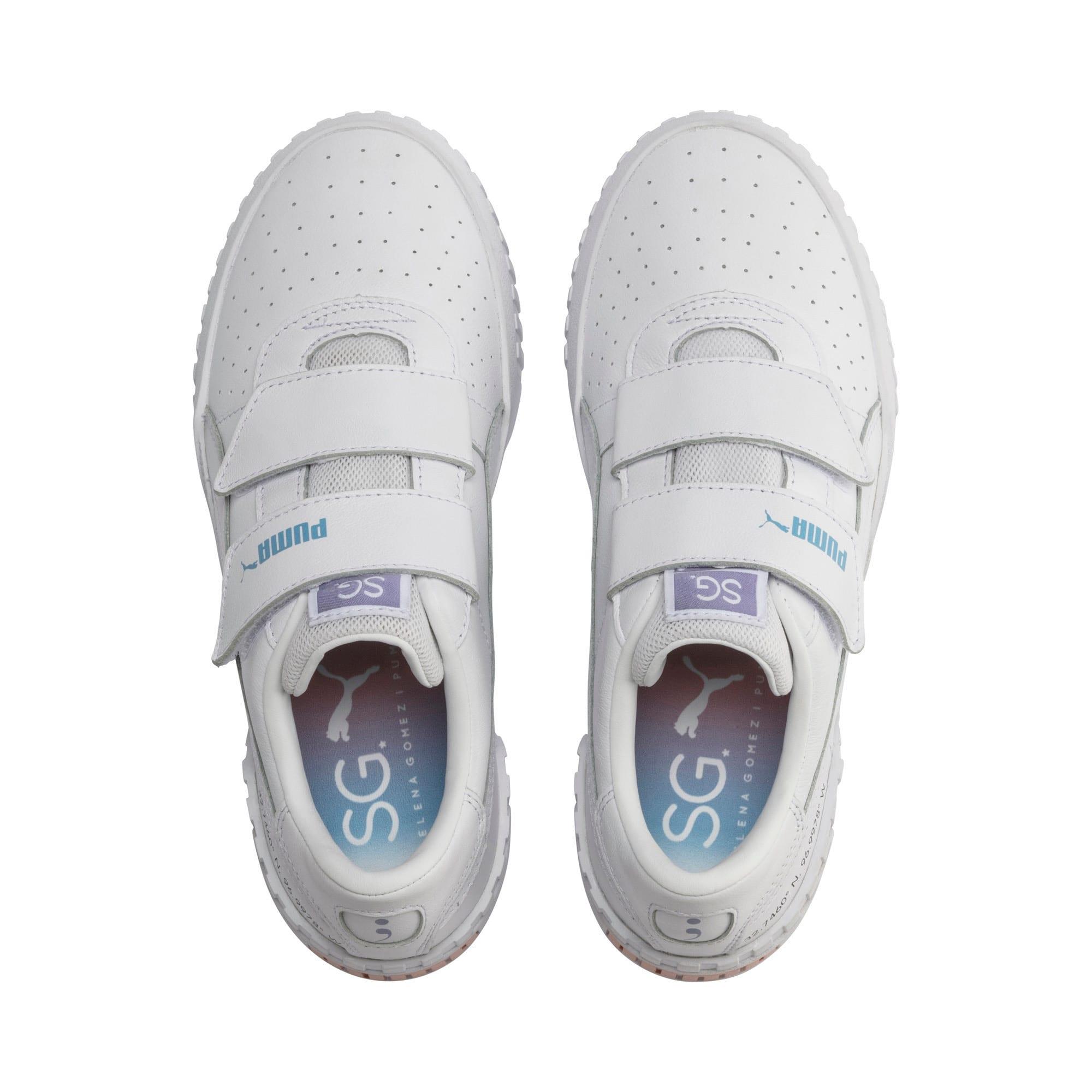 Thumbnail 7 of SG x Cali Women's Sneakers, Puma White-Puma White, medium