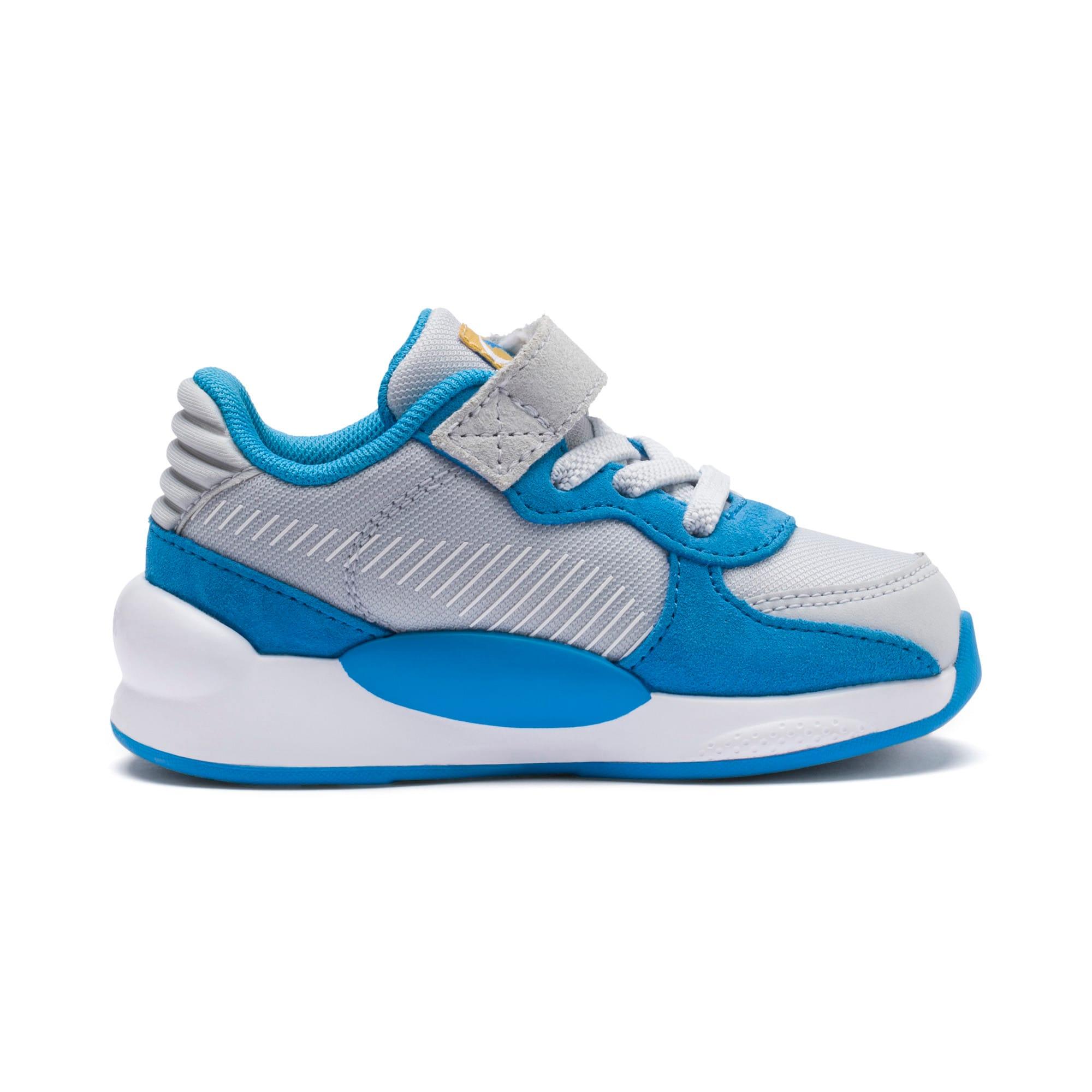 Thumbnail 5 of Sesamstraße 50 RS 9.8 Babies Sneaker, Grey Dawn-Bleu Azur, medium