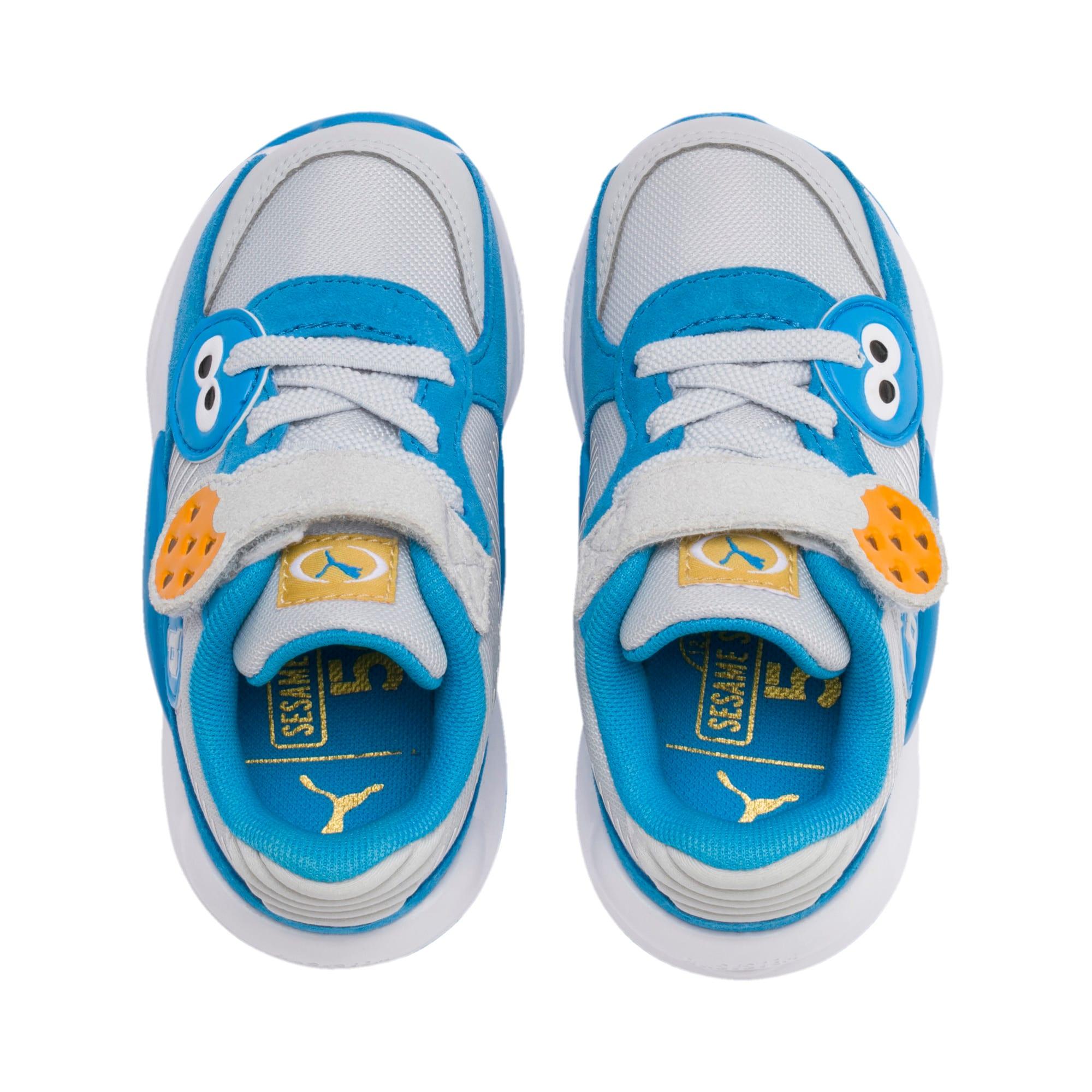 Thumbnail 6 of Sesame Street 50 RS 9.8 Babies' Trainers, Grey Dawn-Bleu Azur, medium